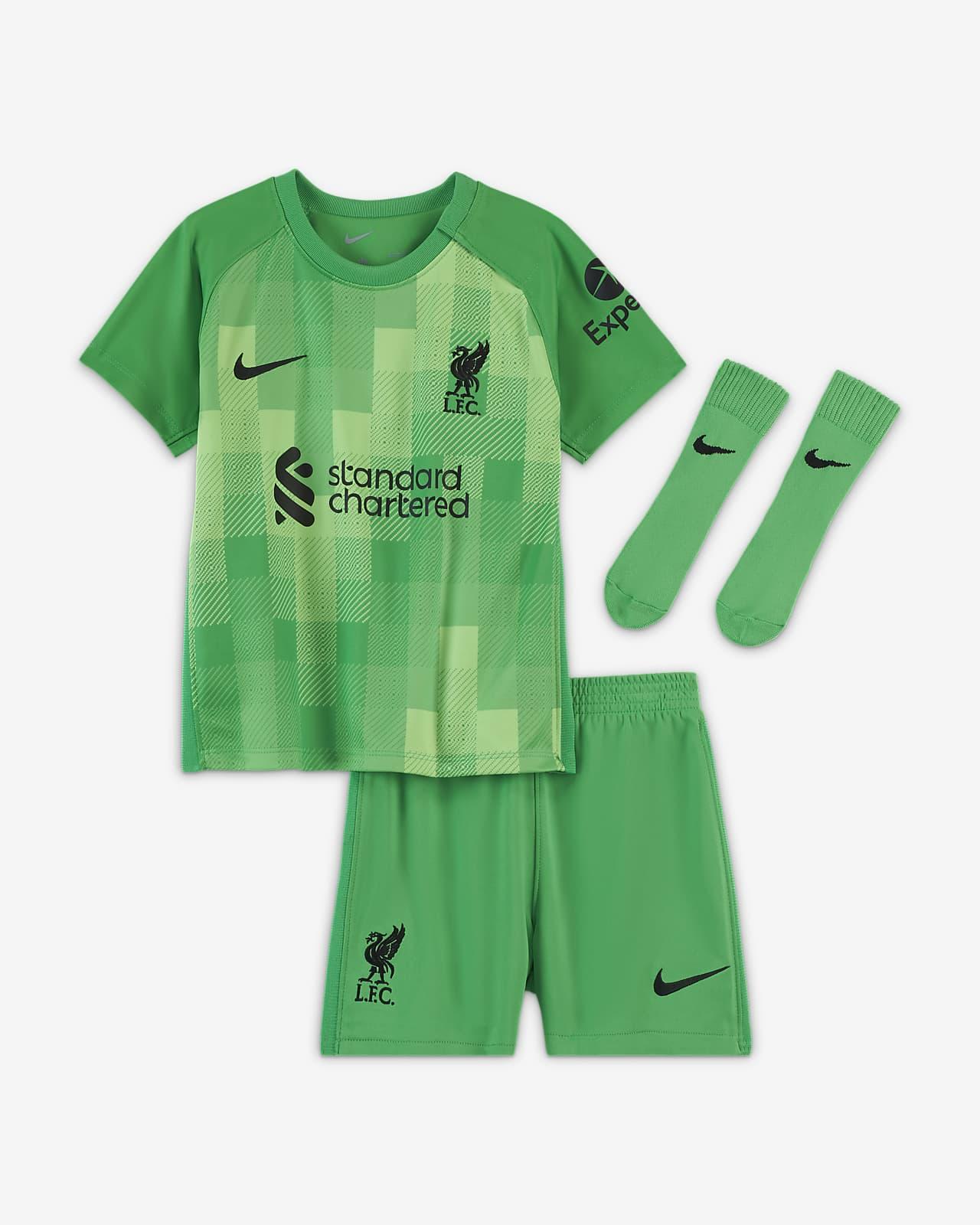 Tenue de football Liverpool FC 2021/22 Gardien de but pour Bébé et Petit enfant