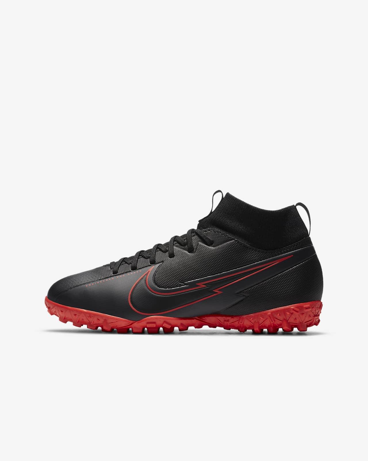 Chaussure de football pour surface synthétique Nike Jr. Mercurial Superfly 7 Academy TF pour Jeune enfant/Enfant plus âgé