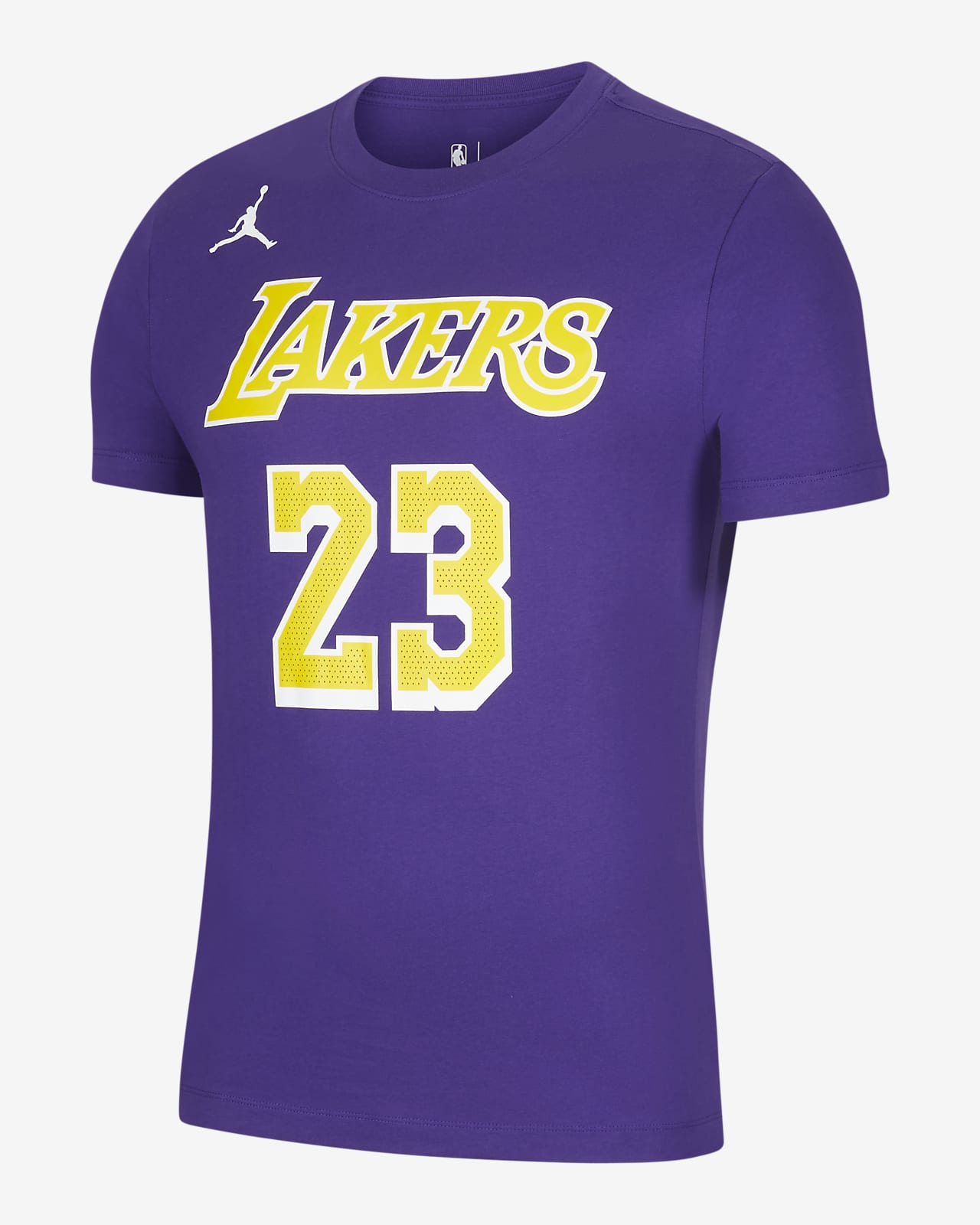 Los Angeles Lakers Statement Edition Men S Jordan Nba T Shirt Nike Id