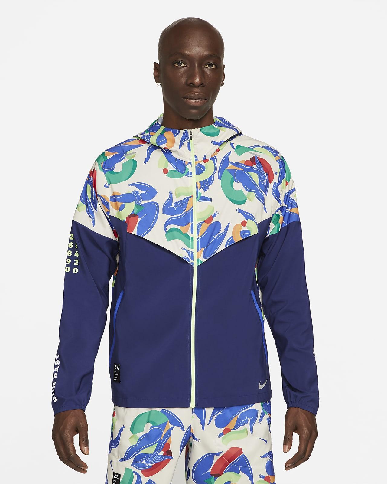Nike Windrunner A.I.R.Kelly Anna London Erkek Koşu Ceketi