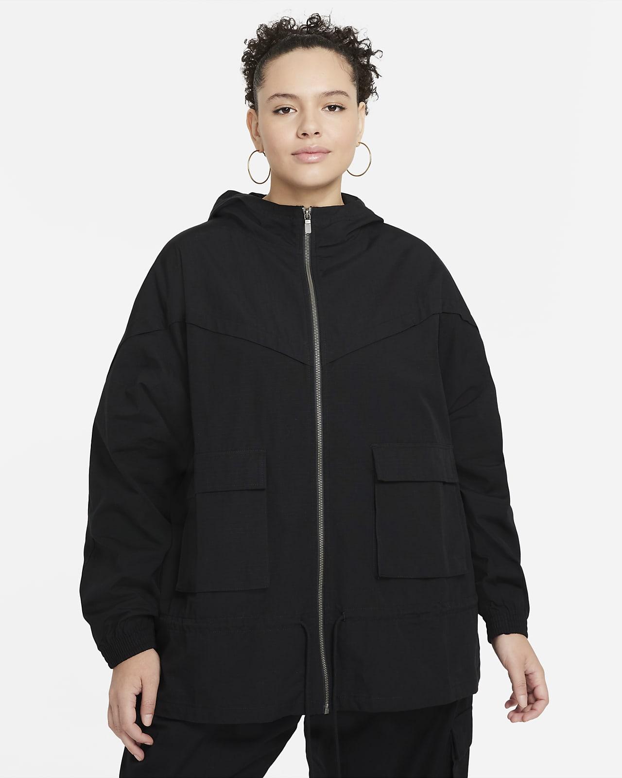 Nike Sportswear Icon Clash-jakke til kvinder (plus size)