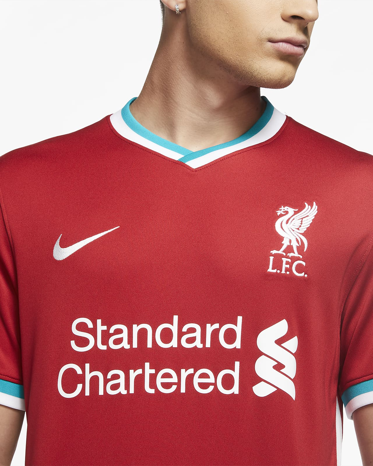 domingo extraño Lógicamente  Liverpool FC 2020/21 Stadium Home Men's Football Shirt. Nike IN
