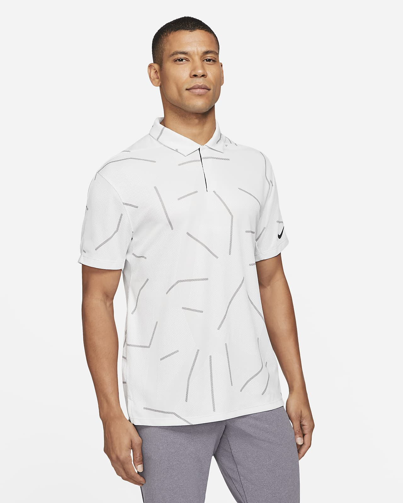 Polo de golf para hombre Nike Dri-FIT Tiger Woods