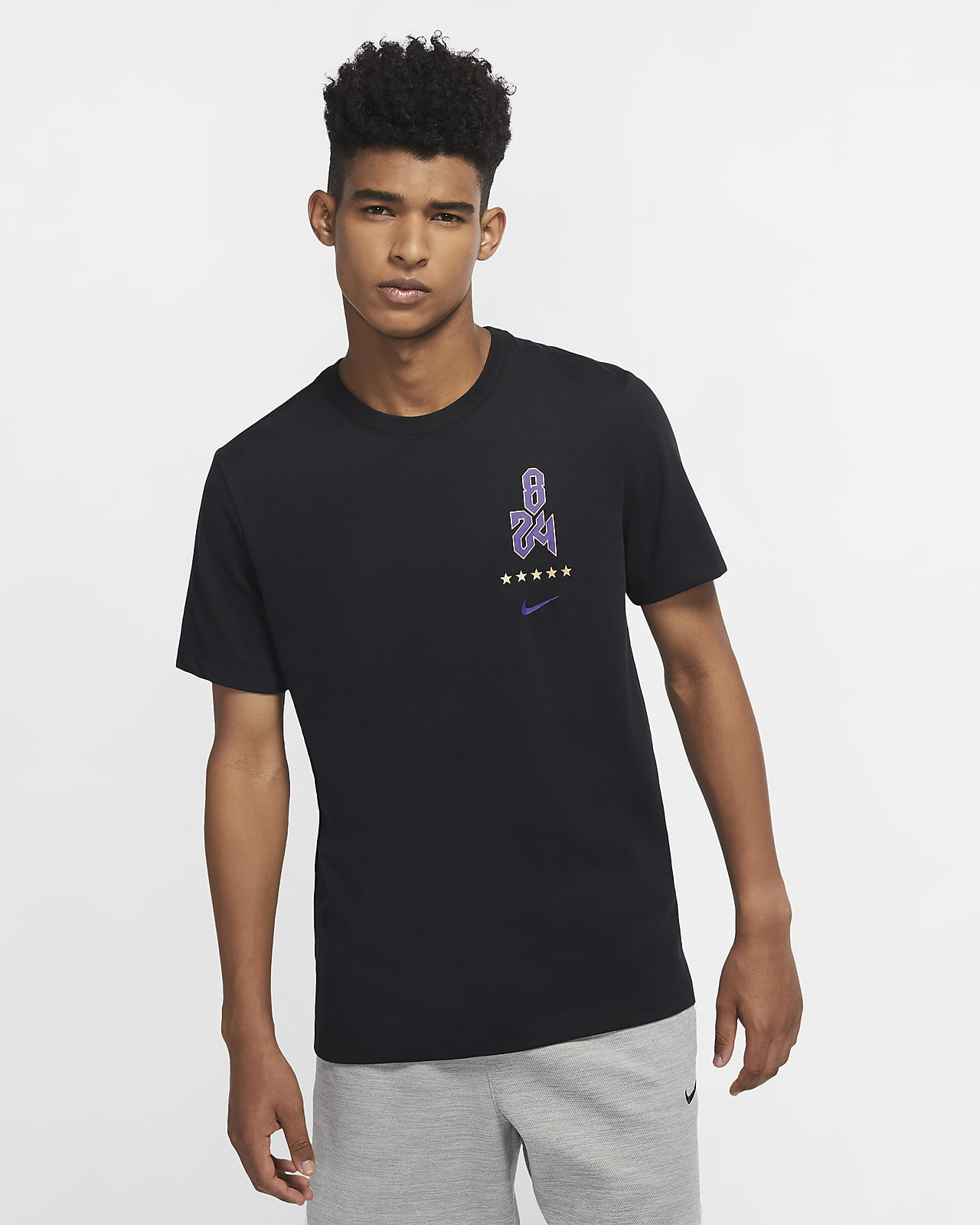 Kobe Logo Nike Dri-FIT 男子篮球T恤