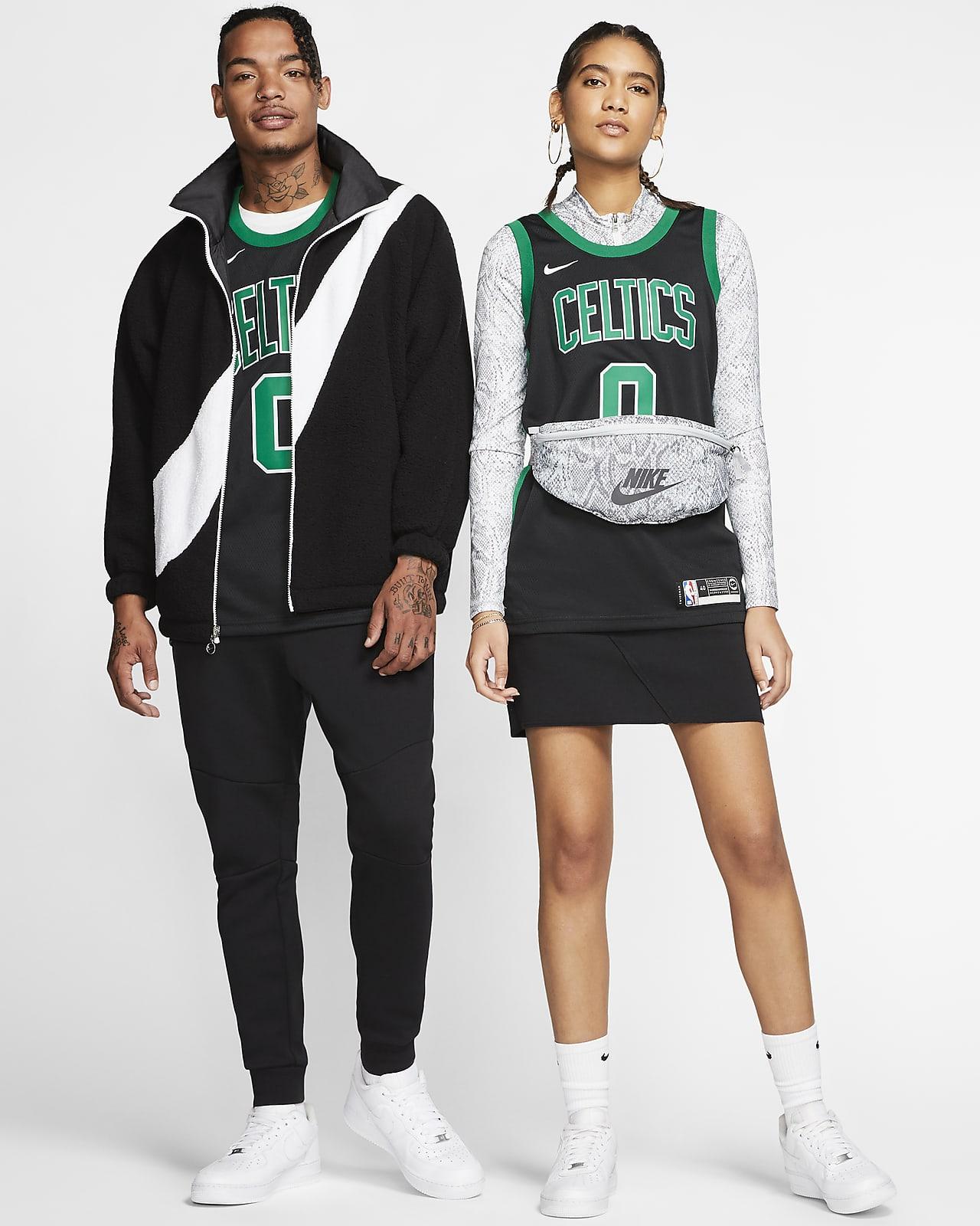A-lee Camiseta de Baloncesto para Hombre Boston Celtics #0 Jayson Tatum Bordado Swingman Transpirable y Resistente al Desgaste Camiseta para Fan