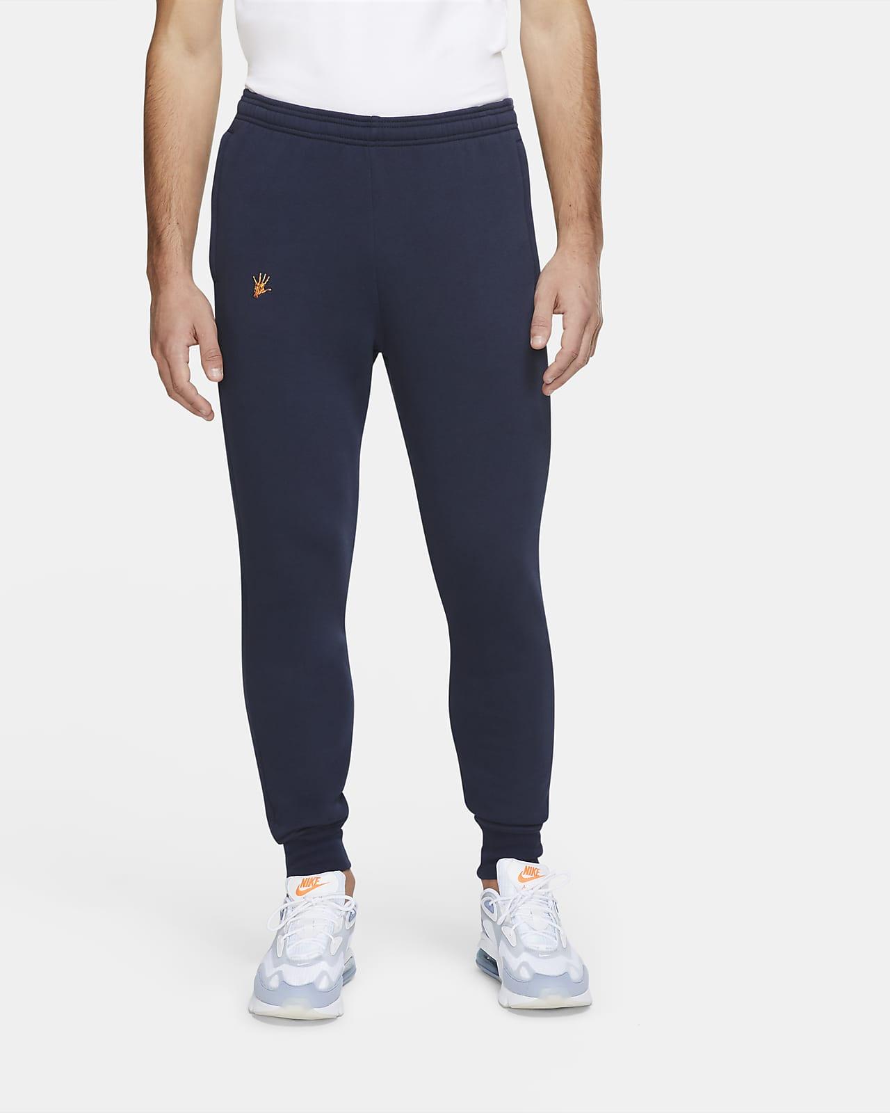Pantalones De Futbol De Tejido Fleece Para Hombre Fc Barcelona Nike Com