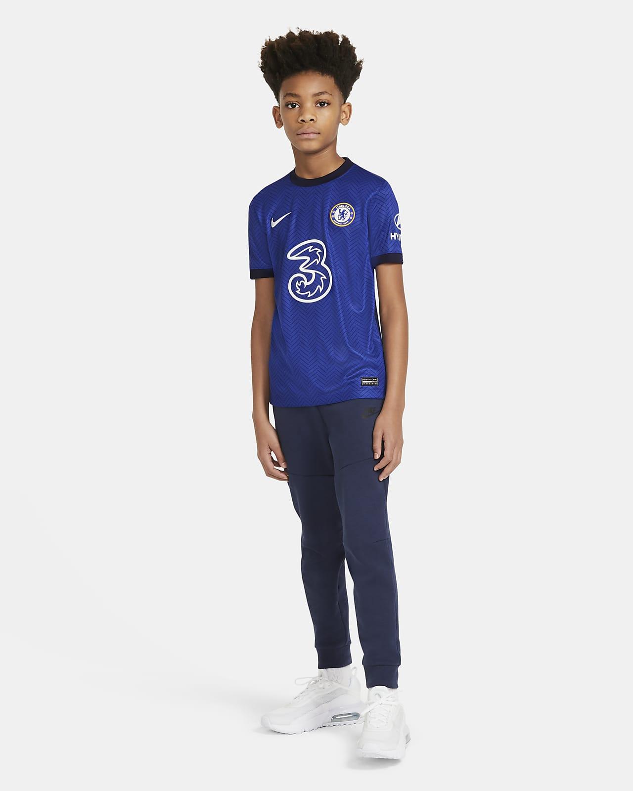 Chelsea FC T skjorte til store barn. Nike NO