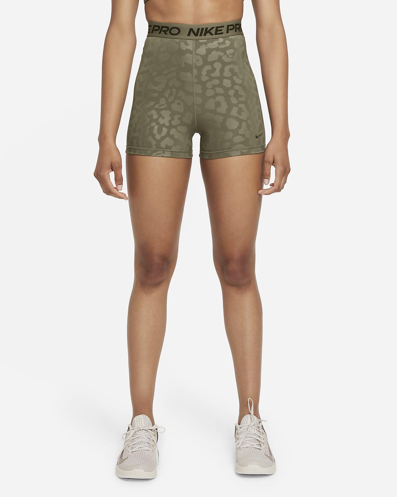 Shorts estampados de tiro alto de 8 cm para mujer Nike Pro Dri-FIT