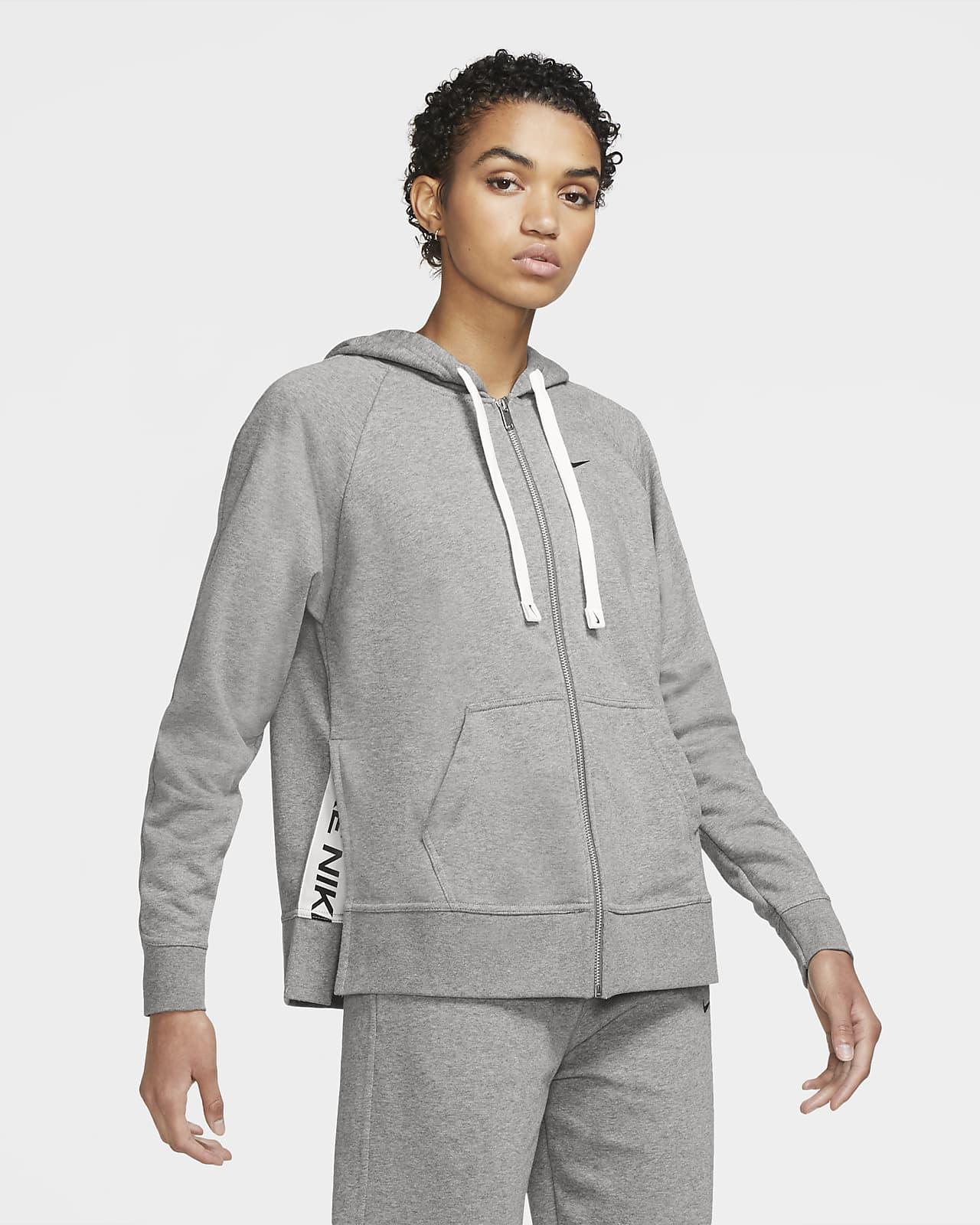 Sudadera con capucha de entrenamiento de cierre completo para mujer Nike Dri-FIT Get Fit