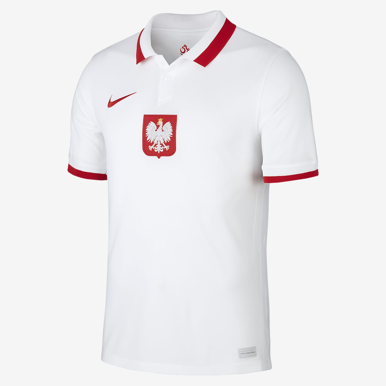 Poland 2020 Stadium Home Men's Football Shirt