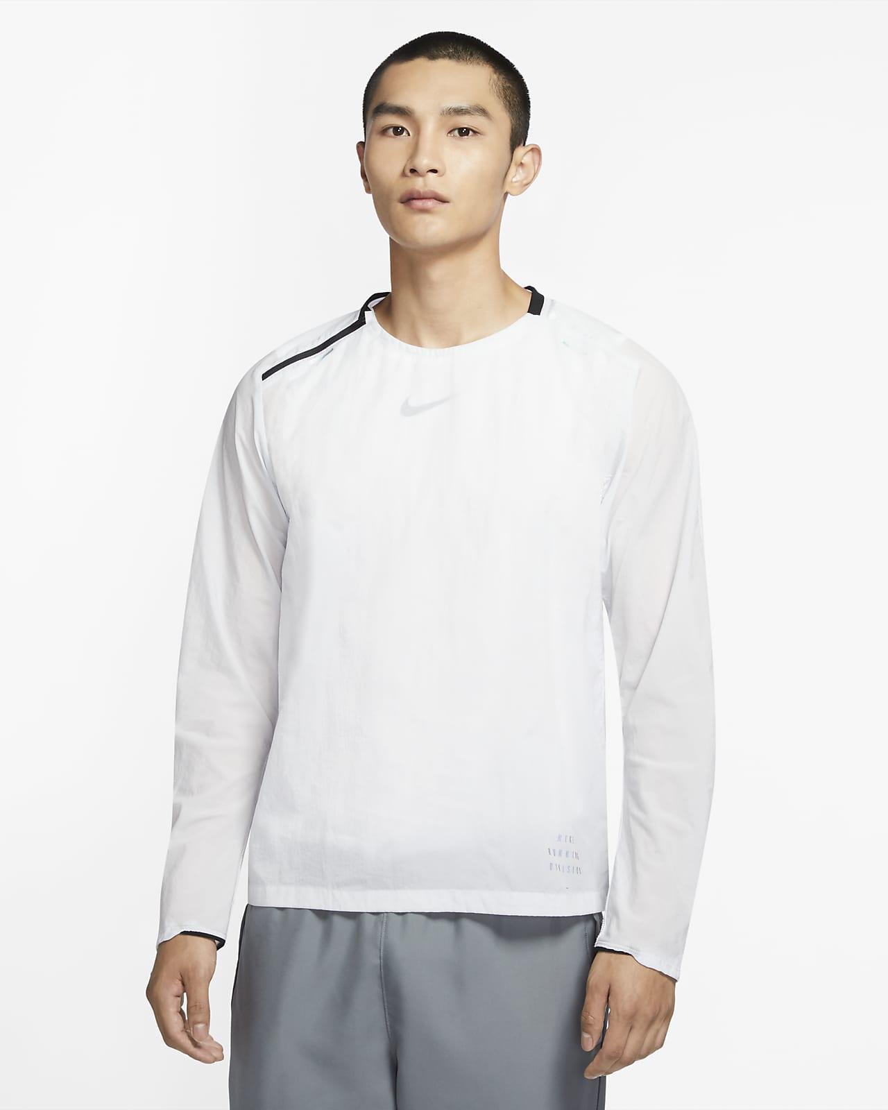 Camisola de running entrançada de camada intermédia Nike Run Division para homem