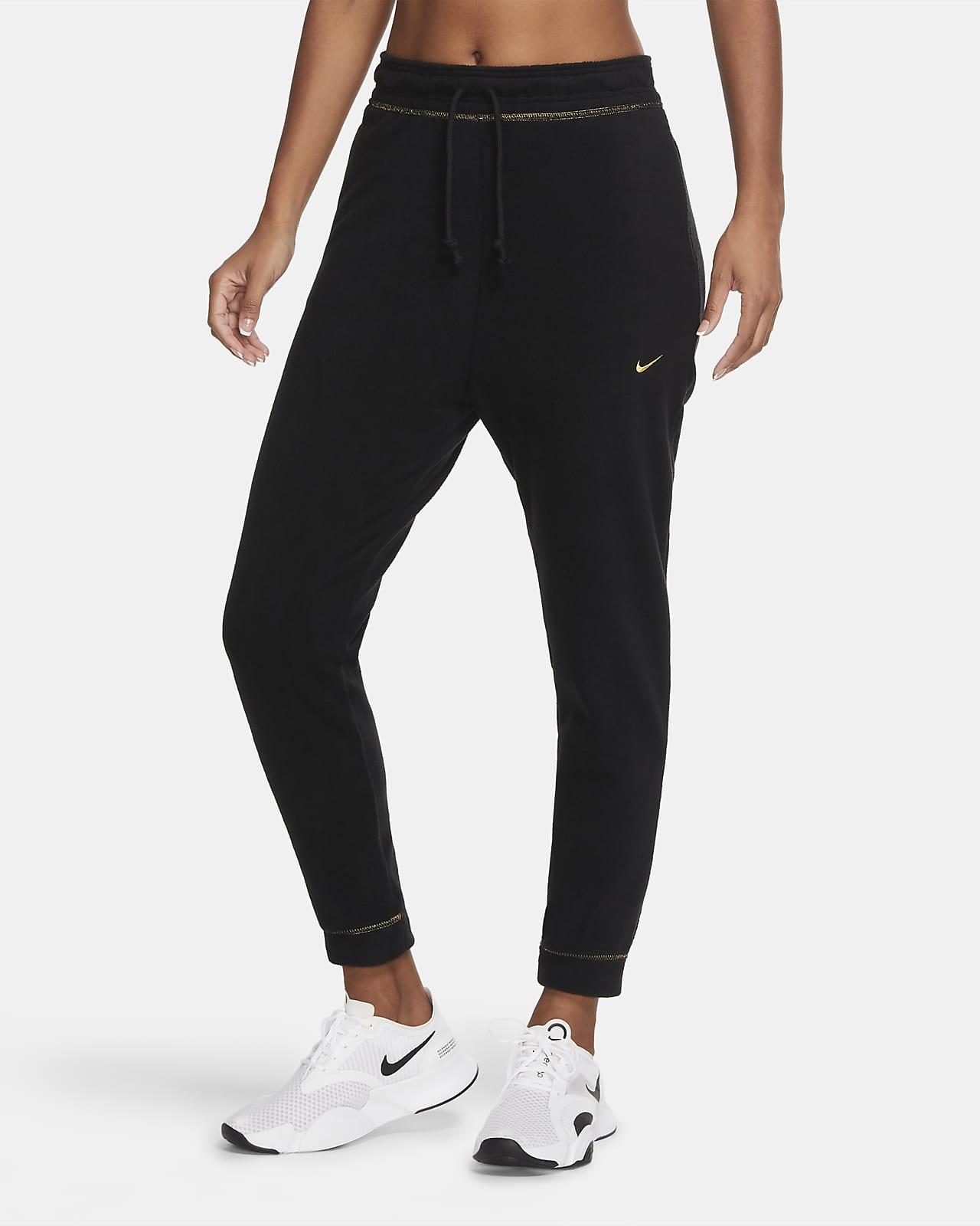 Nike Icon Clash-træningsbukser i fleece til kvinder