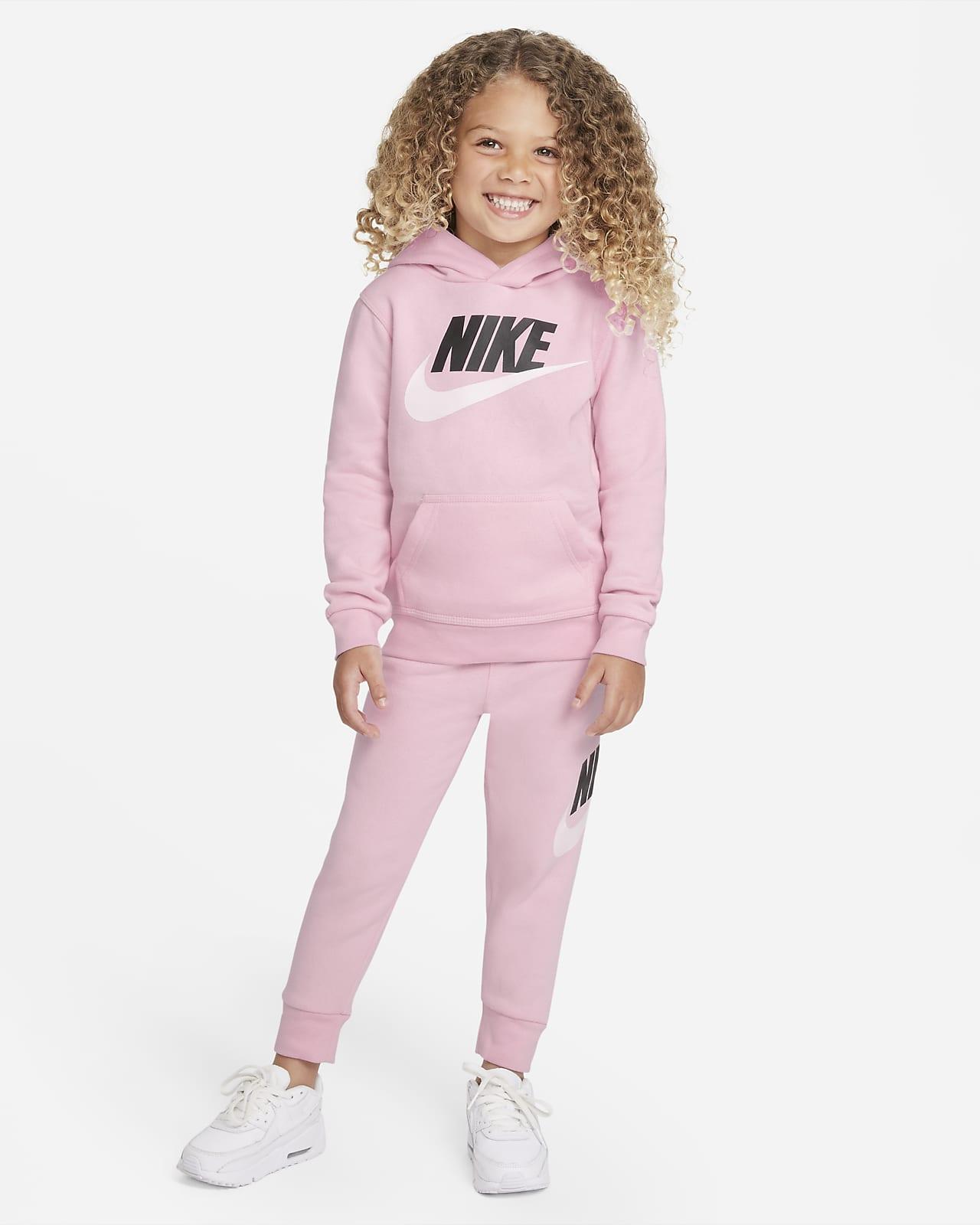 Conjunto de hoodie e calças Nike Sportswear Club Fleece para bebé