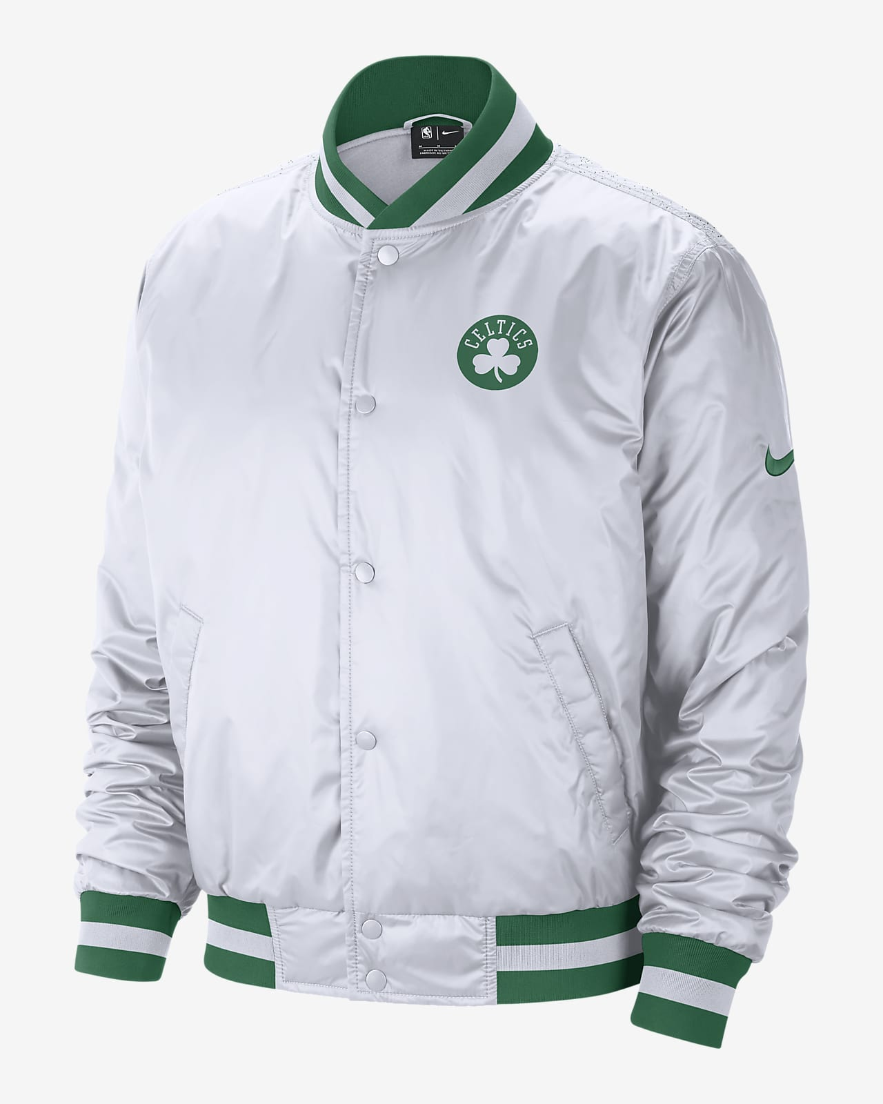 Chamarra Nike NBA para hombre Boston Celtics City Edition Courtside