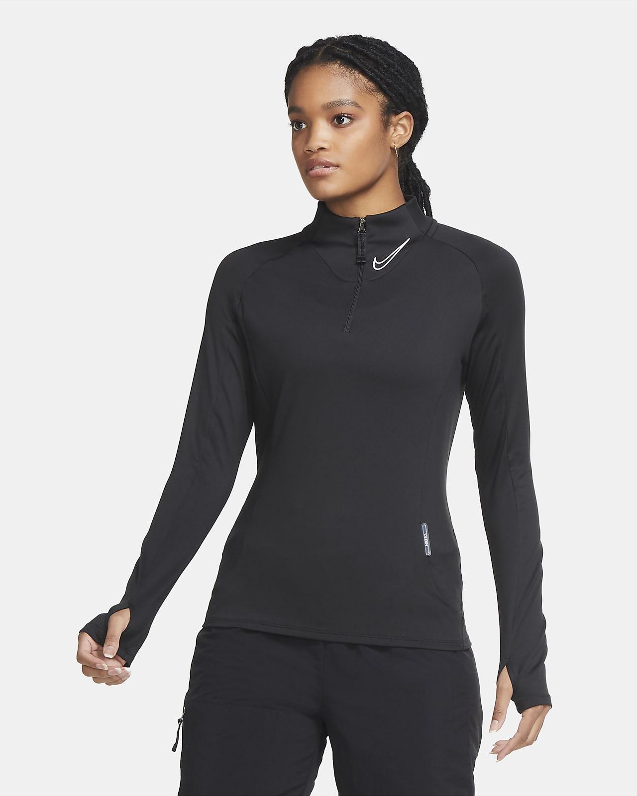 Nike F.C. Women's 1/4-Zip Midlayer Football Top