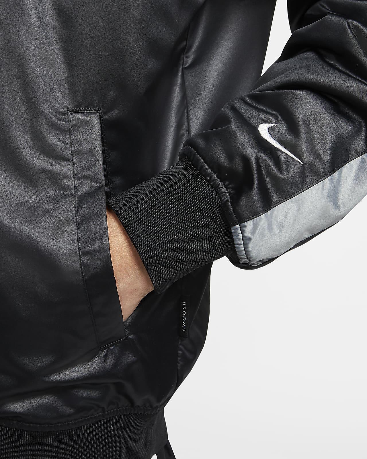Veste aviateur tissée Nike Sportswear Swoosh pour Homme