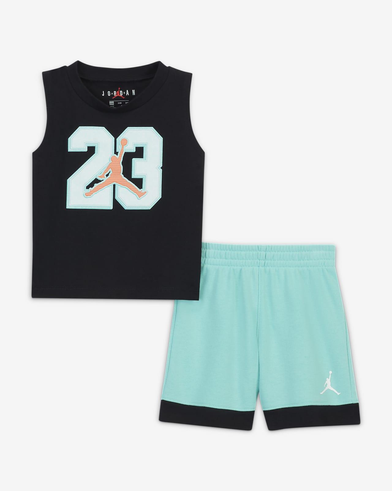 Jordan Baby (12-24M) Tank Top and Shorts Set