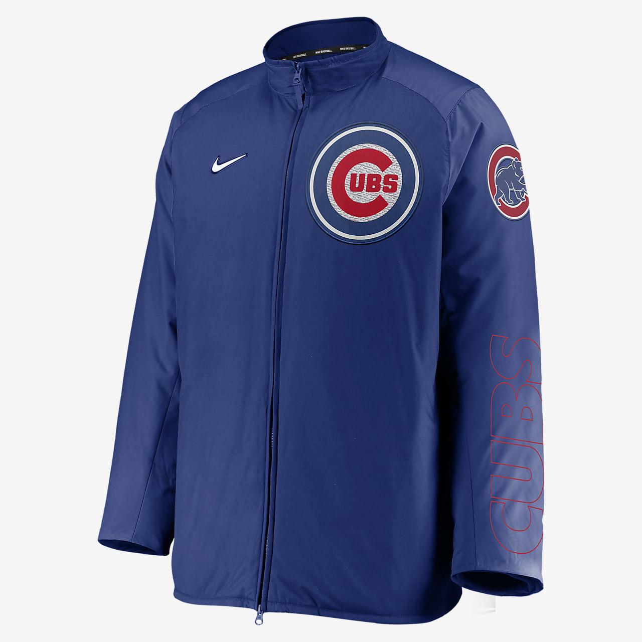 Nike Dugout (MLB Chicago Cubs) Men's Full-Zip Jacket