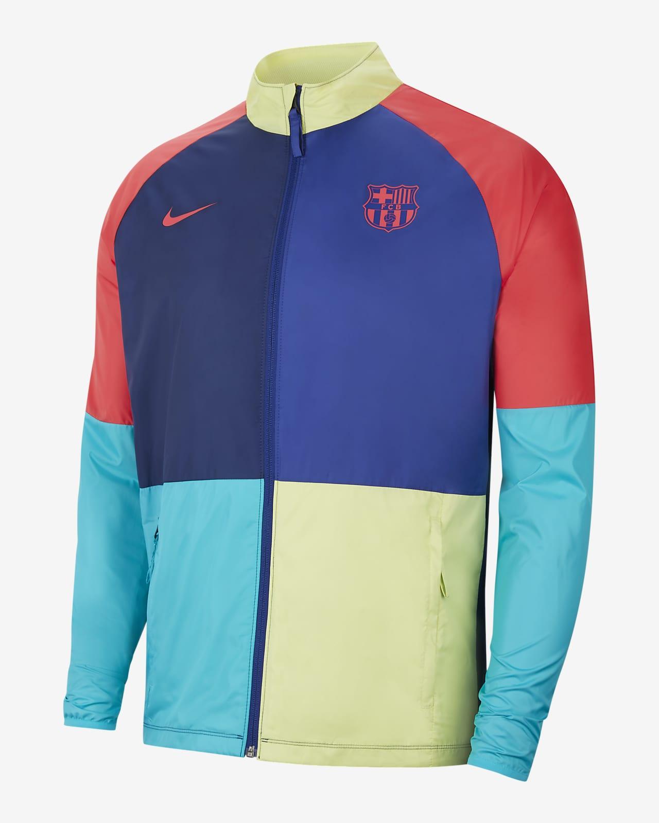 Veste de football FC Barcelona Academy AWF pour Homme