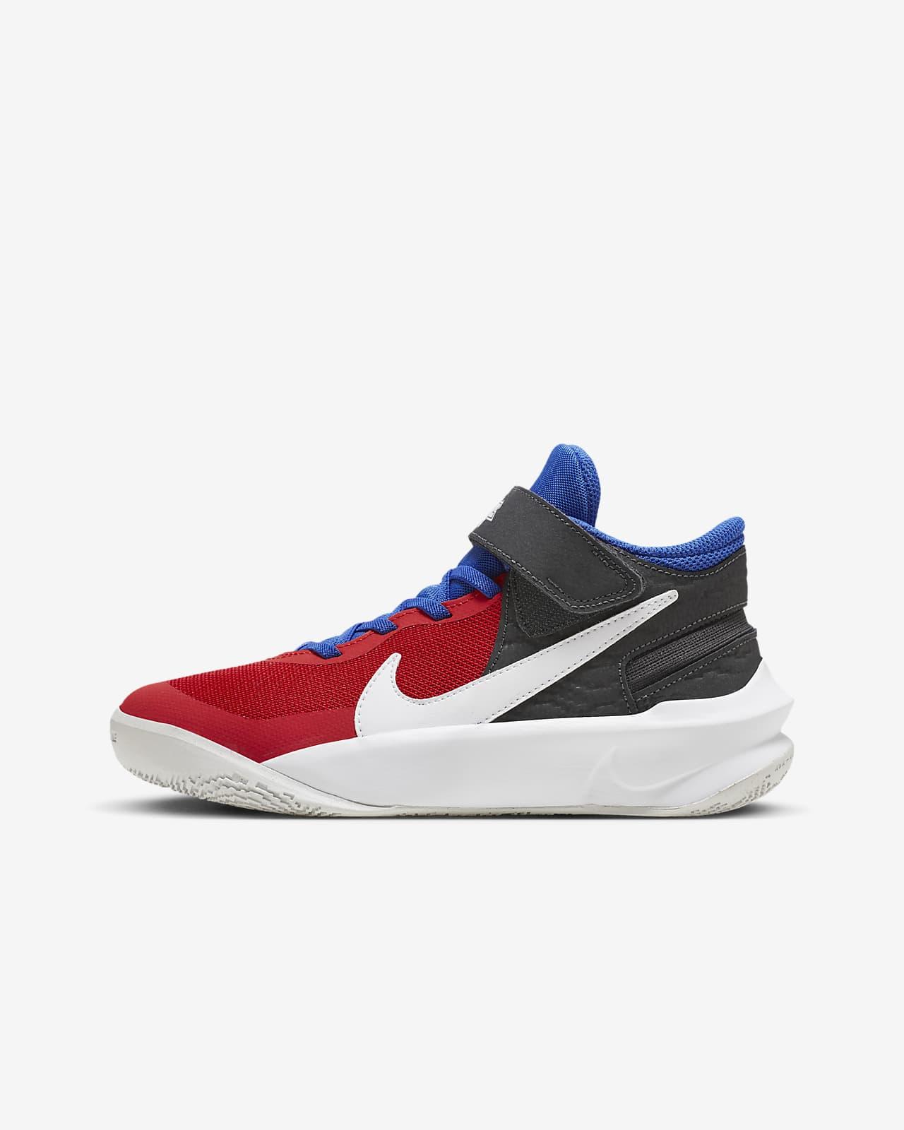 Chaussure de basketball Nike Team Hustle D 10 FlyEase pour Enfant plus âgé