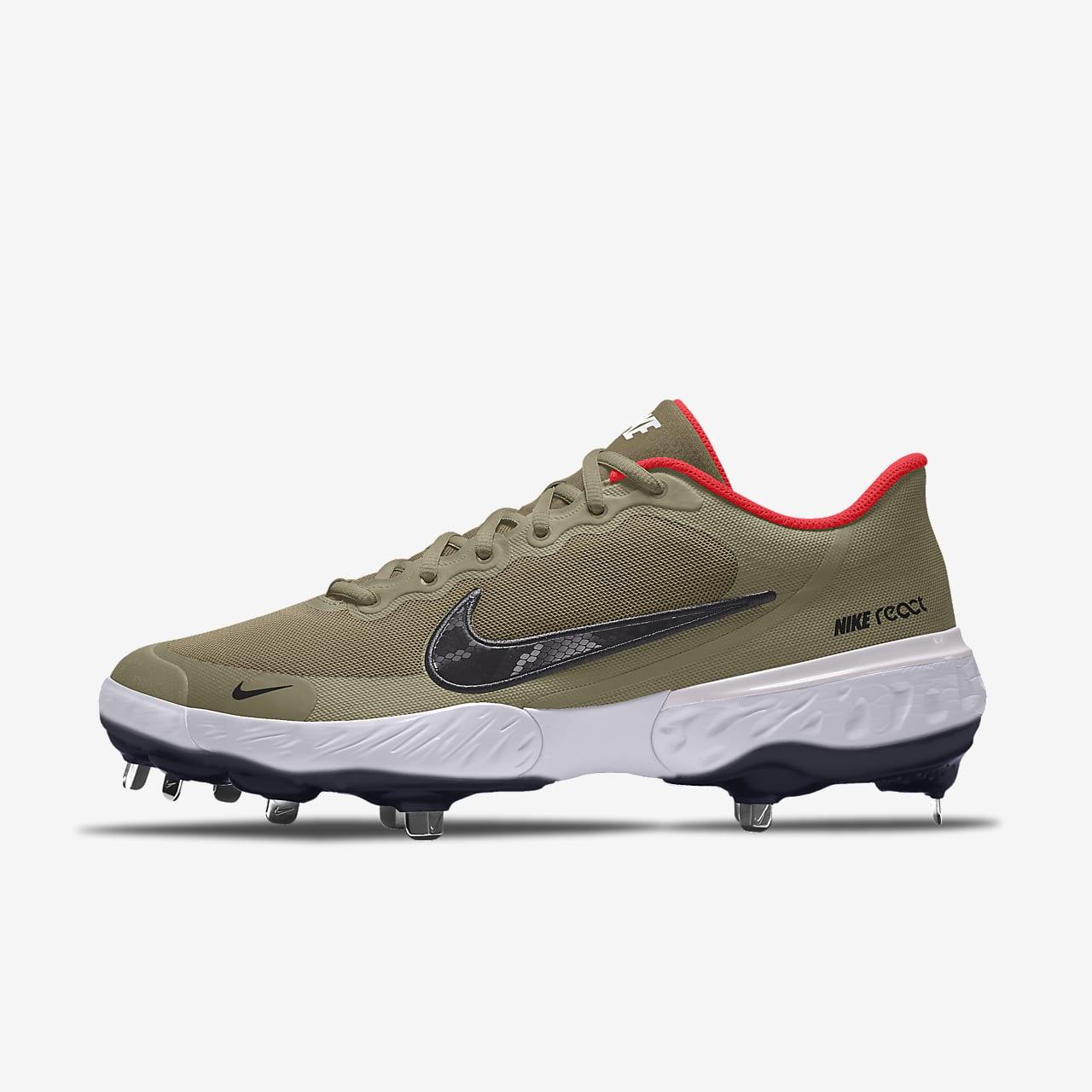 Scarpa da baseball personalizzabile Nike Alpha Huarache Elite 3 Low By You