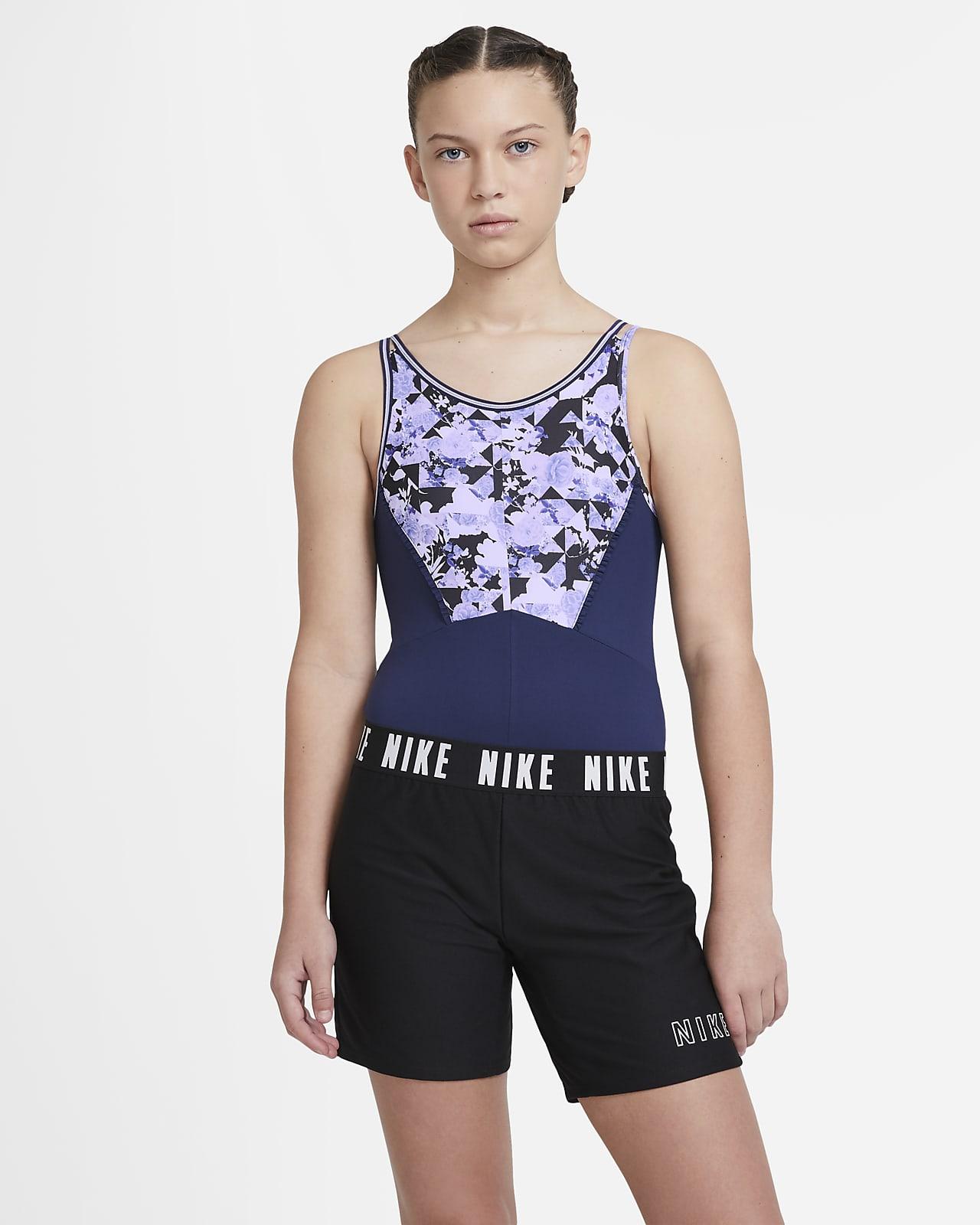 Nike body til store barn (jente)