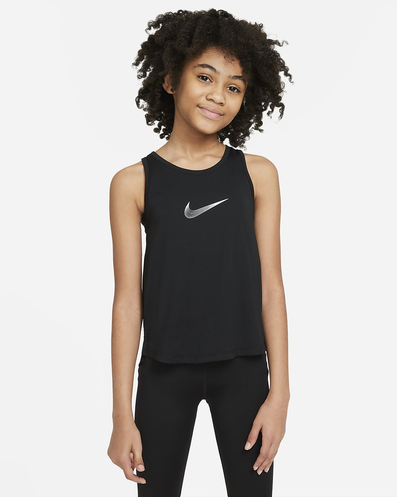 Майка для тренинга для девочек школьного возраста Nike Dri-FIT Trophy