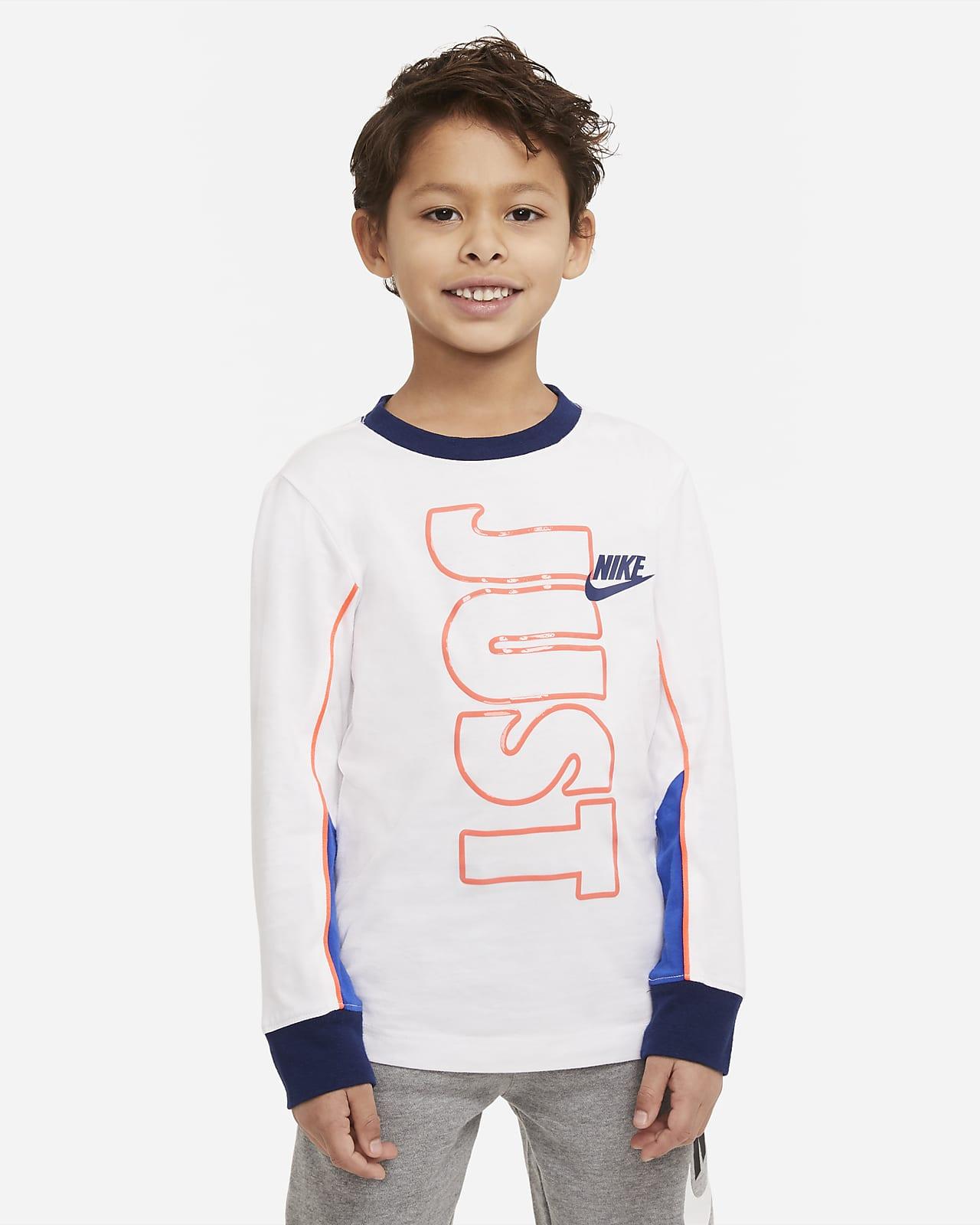 Nike Color-Block 幼童长袖T恤