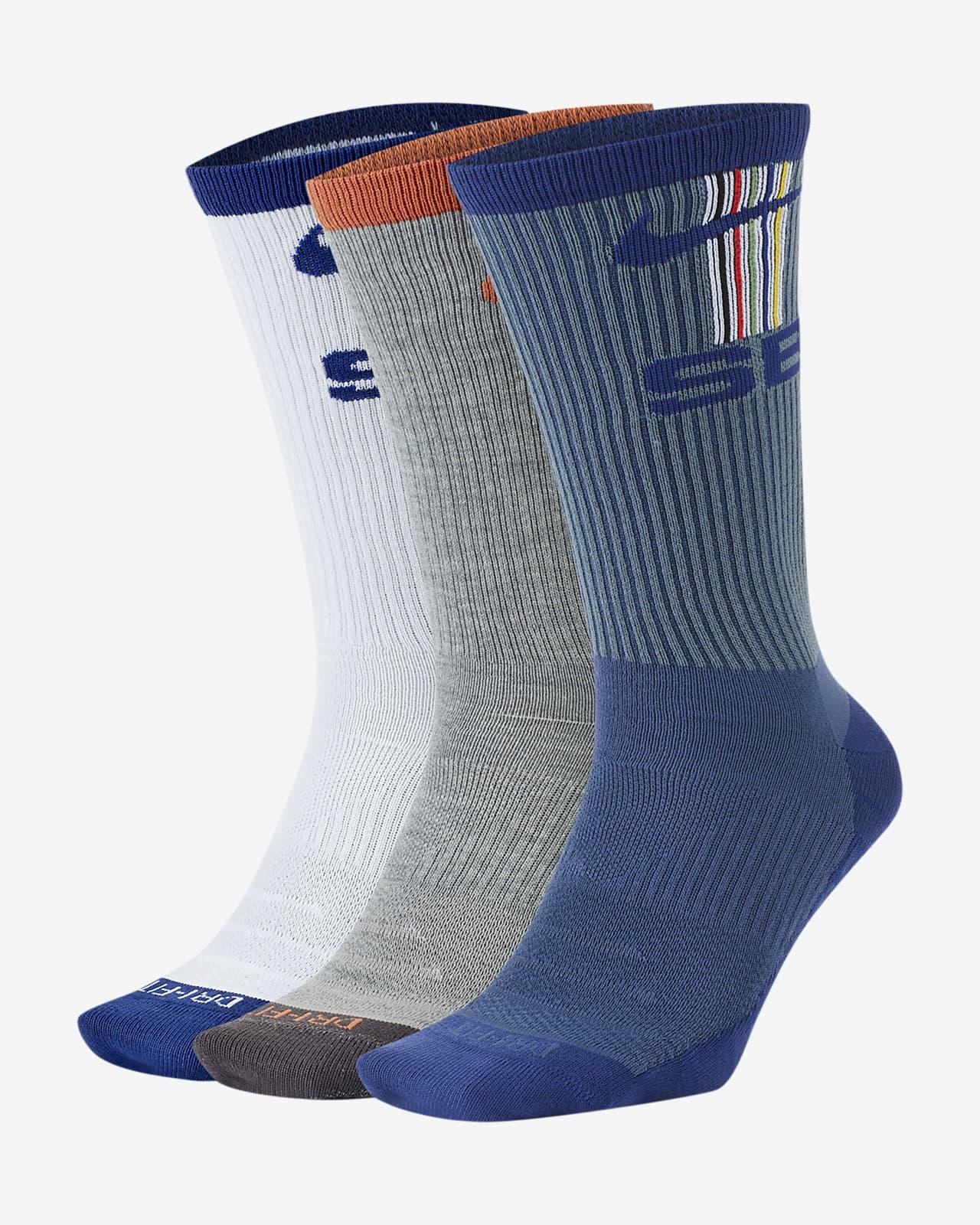Nike SB Everyday Max Lightweight 滑板运动袜(3 双)
