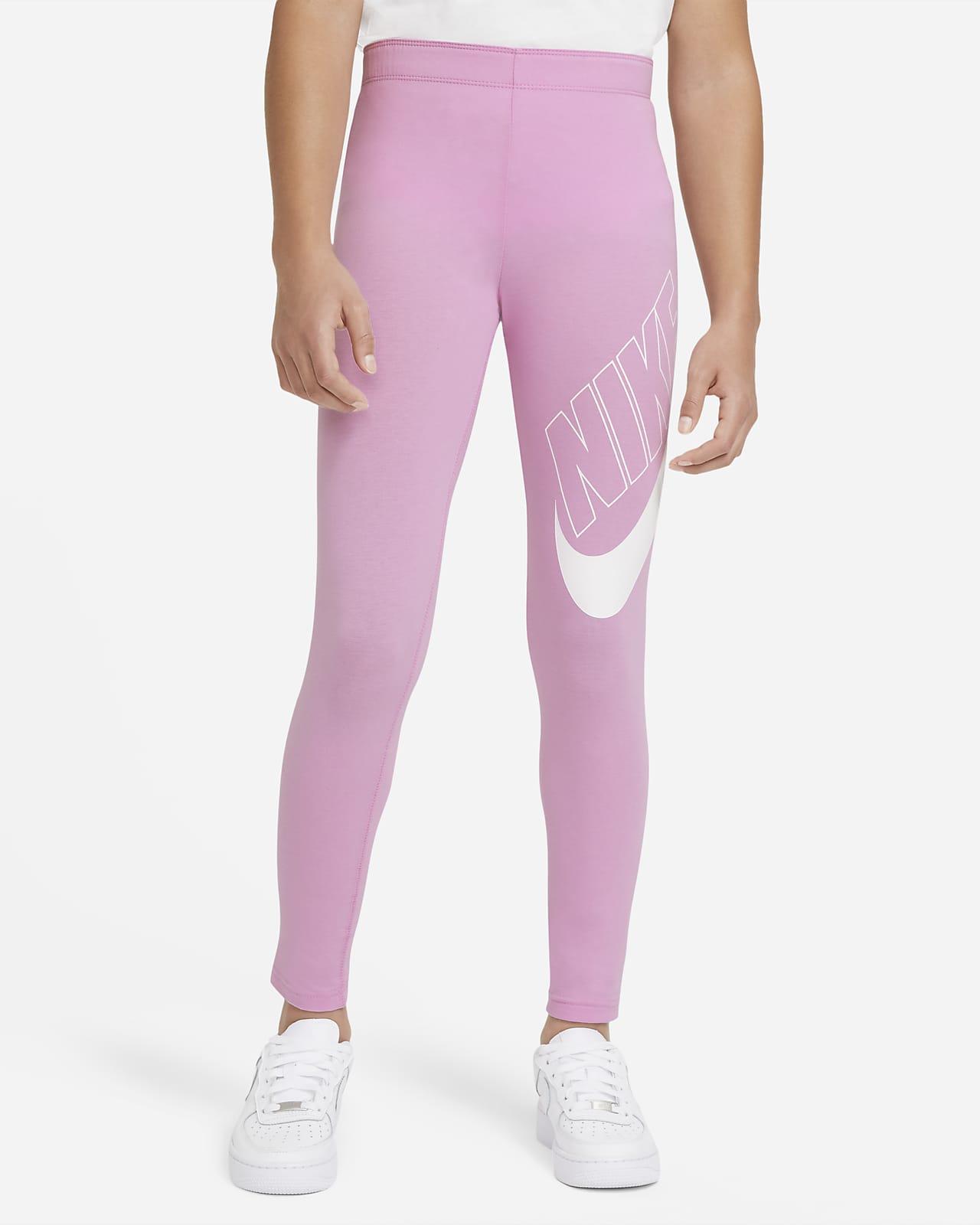 Nike Sportswear Favorites-leggings med grafik til store børn (piger)