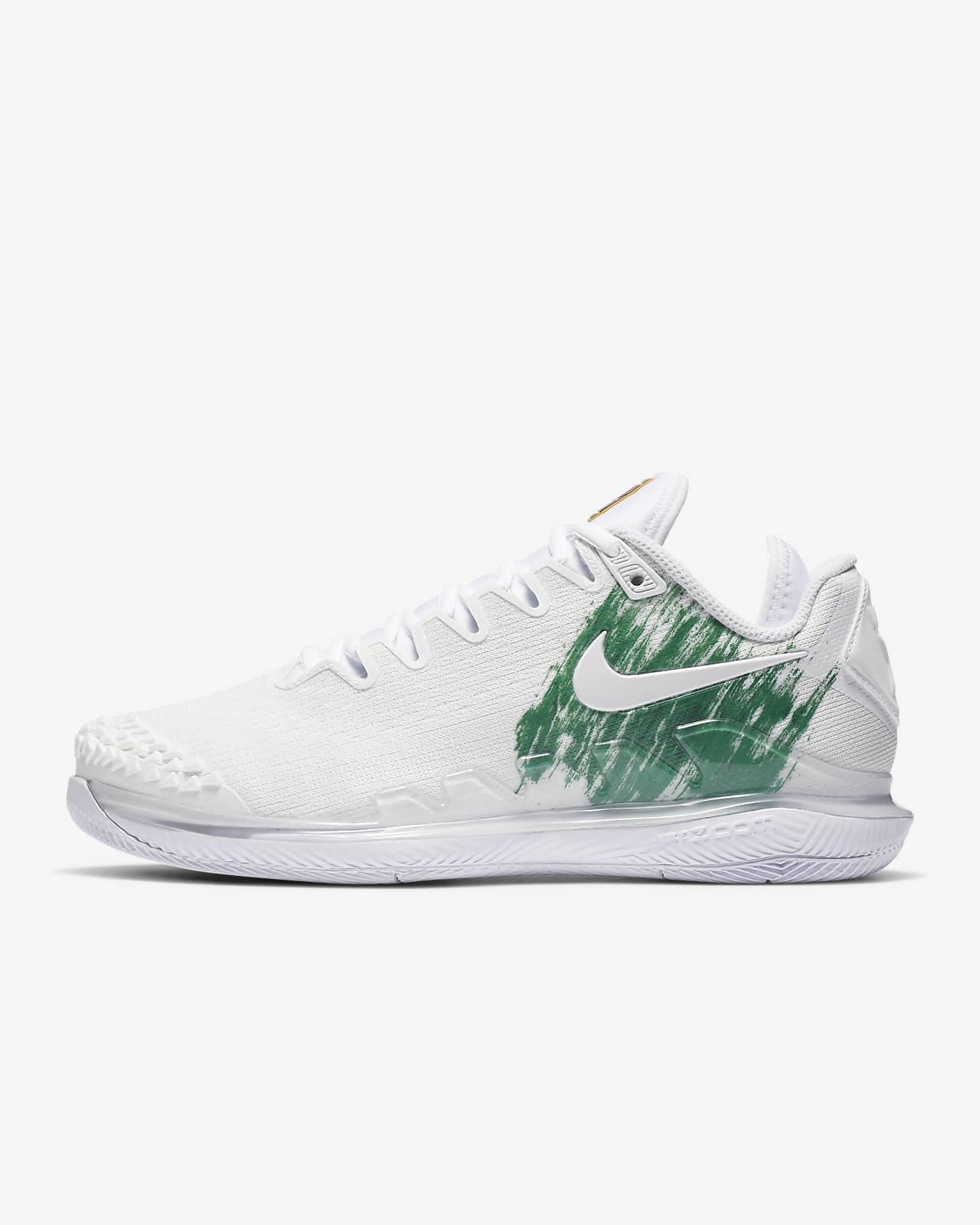 NikeCourt Air Zoom Vapor X Knit Zapatillas de tenis de pista rápida - Mujer