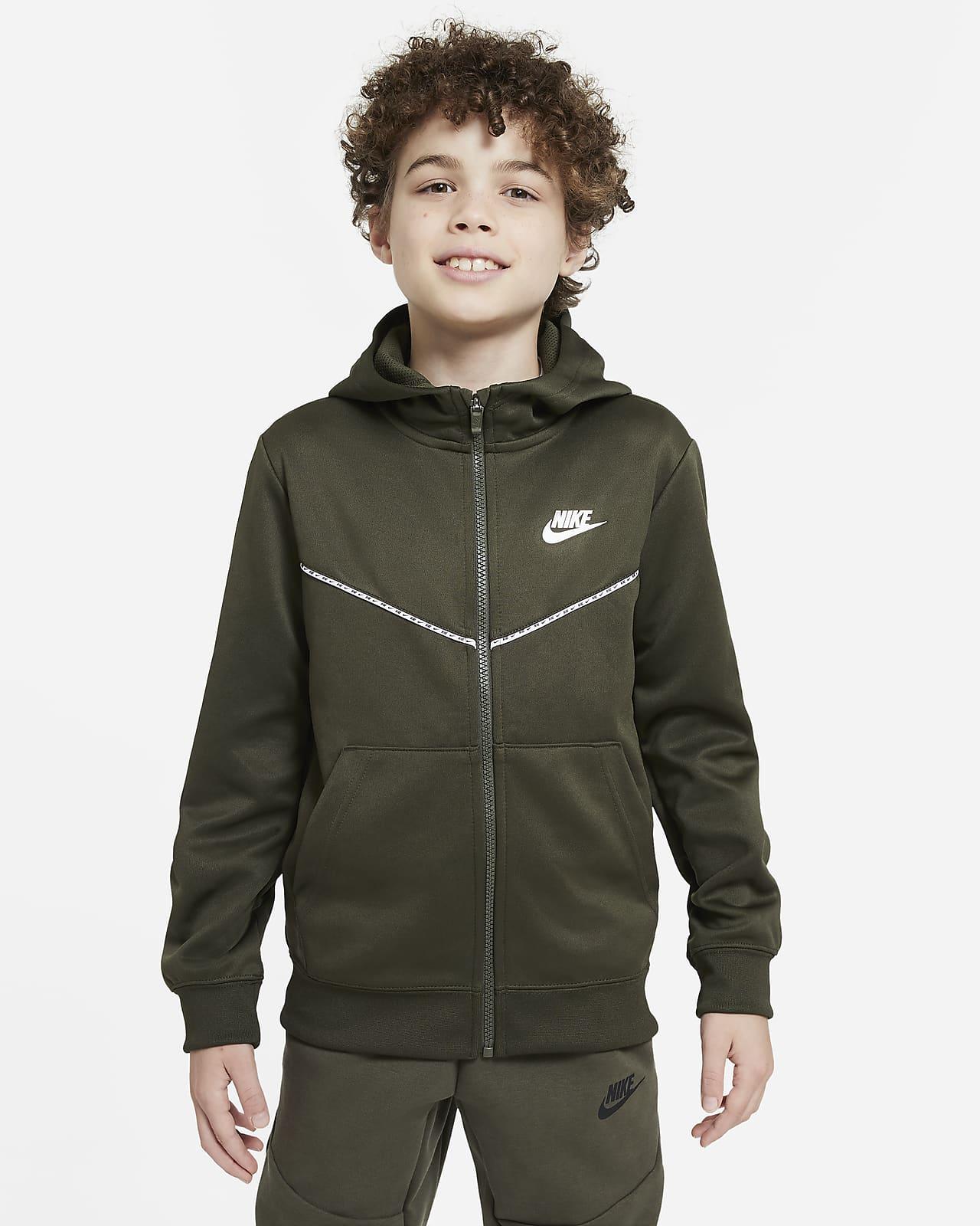 Nike Sportswear Sudadera con capucha con cremallera de entrenamiento - Niño