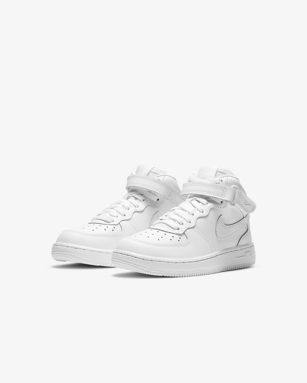 Nike Force 1 Mid Little Kids' Shoes. Nike.com