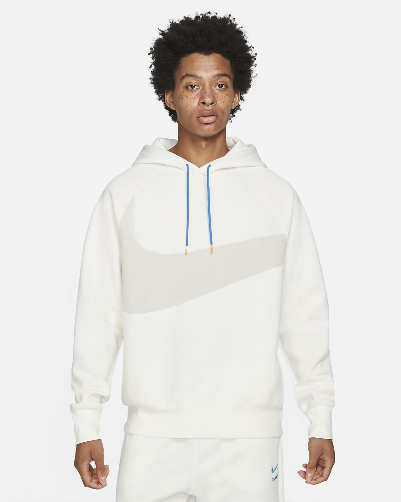 Felpa pullover con cappuccio Nike Sportswear Swoosh Tech Fleece - Uomo