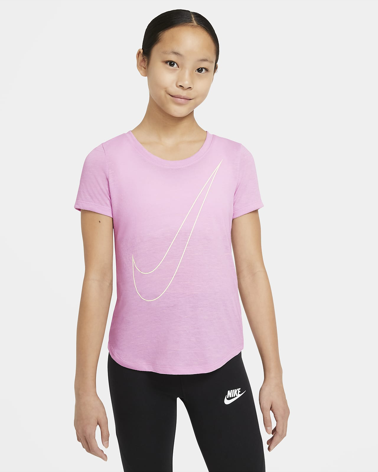 Nike Dri-FIT Big Kids' (Girls') T-Shirt