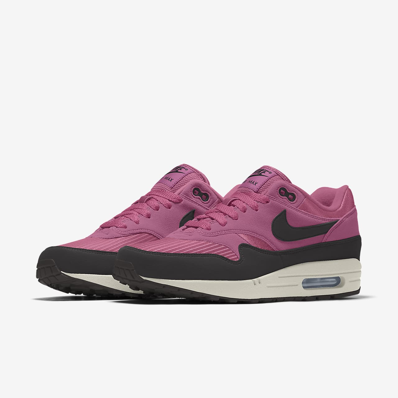 Chaussure personnalisable Nike Air Max 1 By You pour Femme