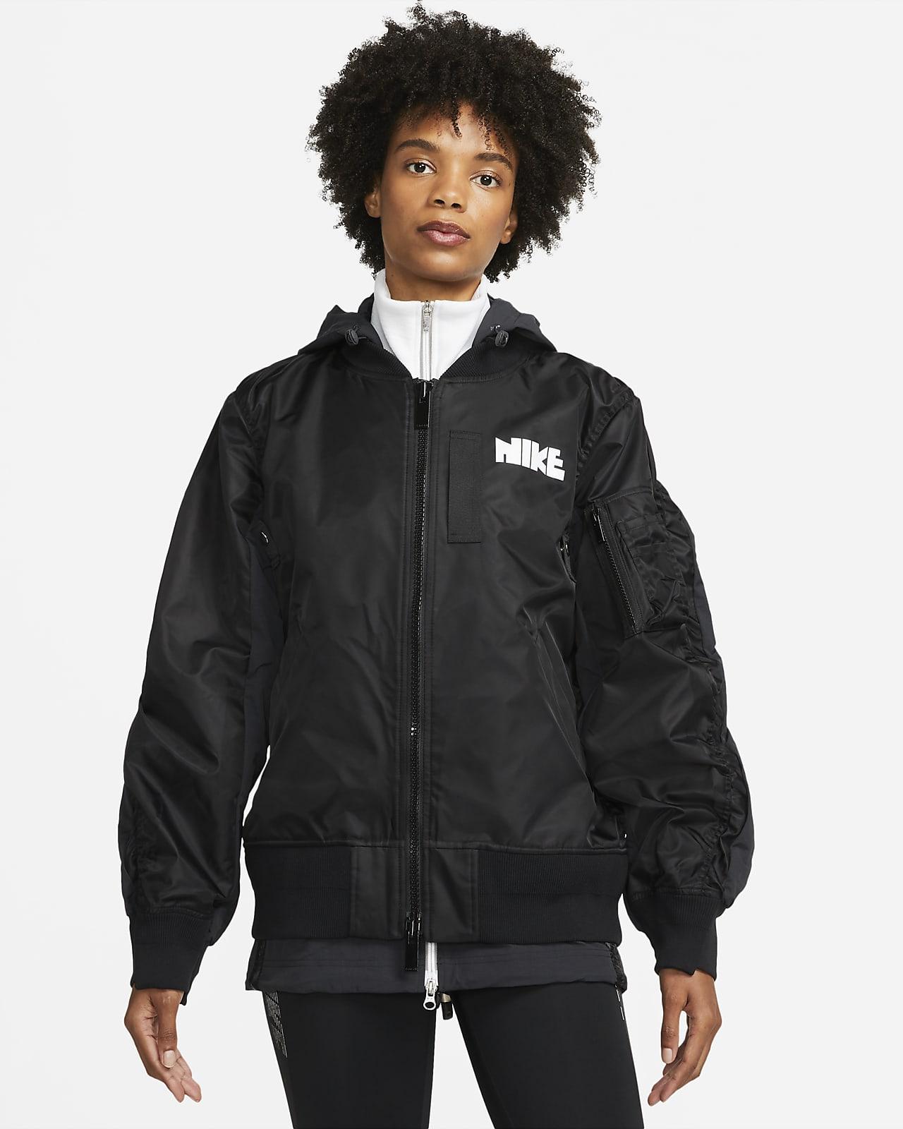เสื้อแจ็คเก็ตผู้หญิง Nike x sacai