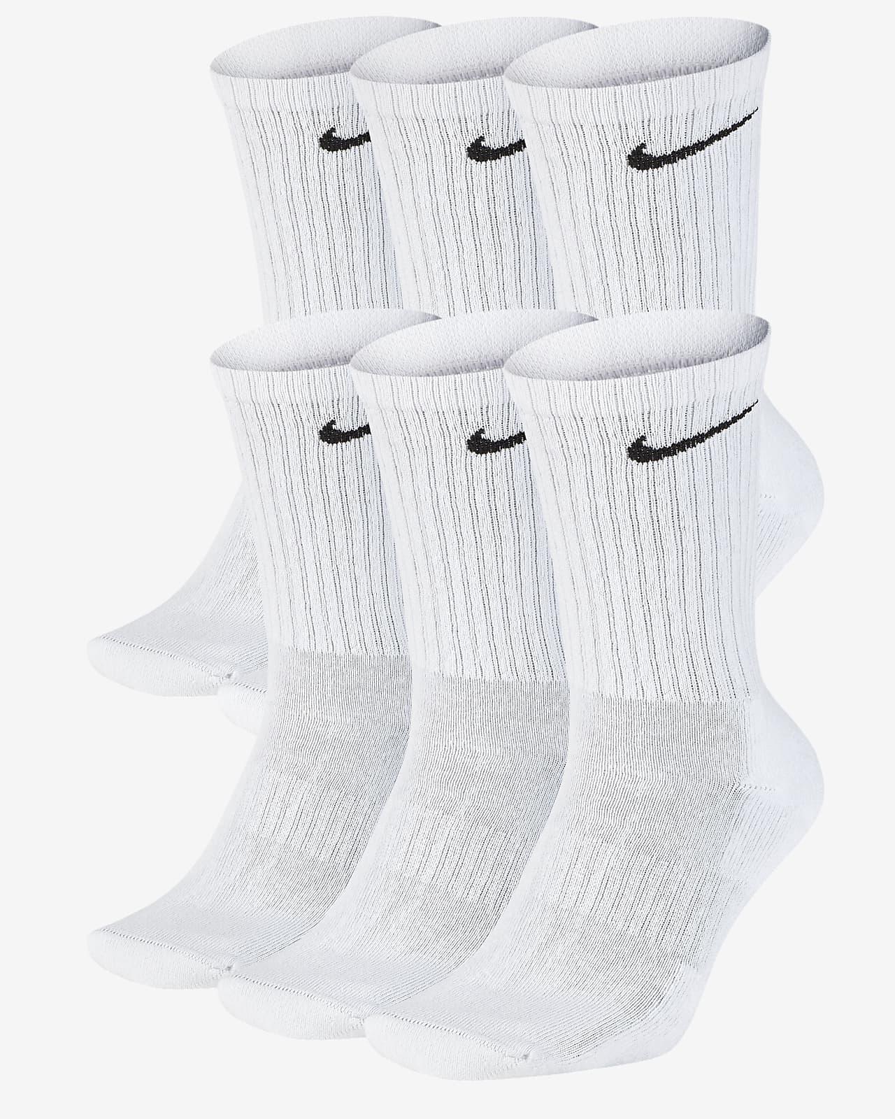 Calze da training Nike Everyday Cushioned di media lunghezza (6 paia)