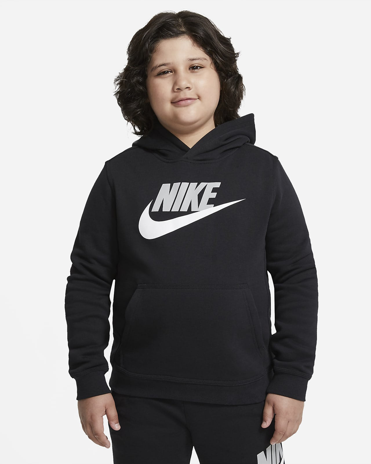 Nike Sportswear Club Fleece Hoodie voor jongens (grotere maten)