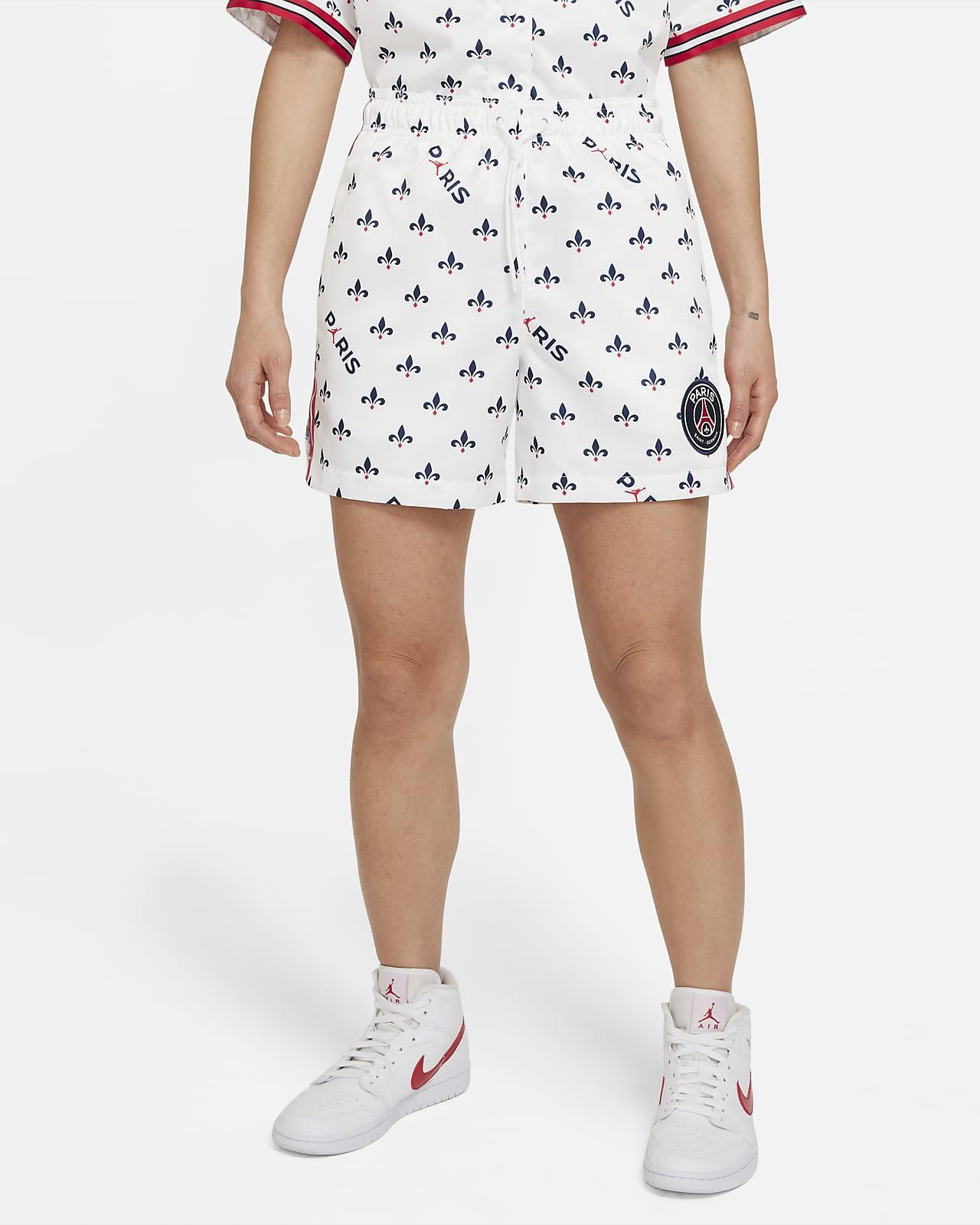 巴黎圣日耳曼女子印花短裤