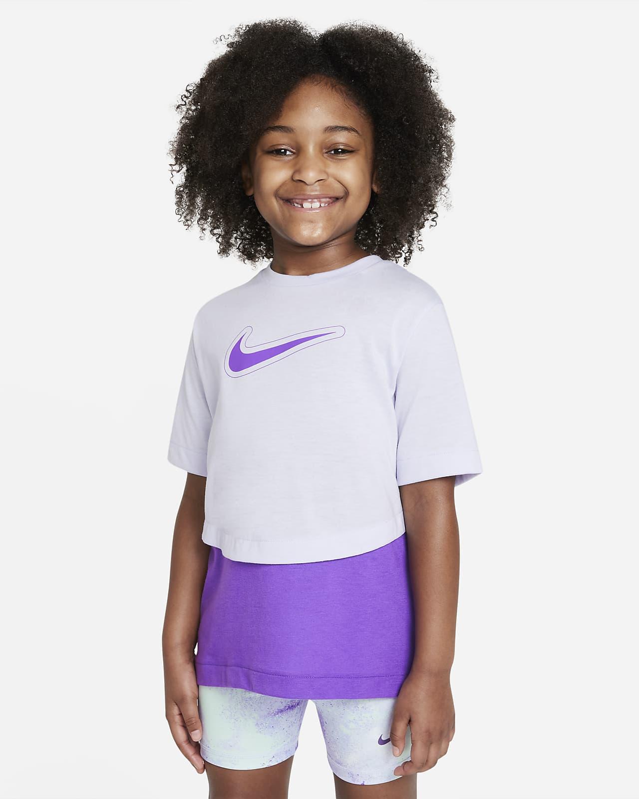 เสื้อเทรนนิ่งแขนสั้นเด็กโต Nike Dri-FIT Trophy (หญิง)