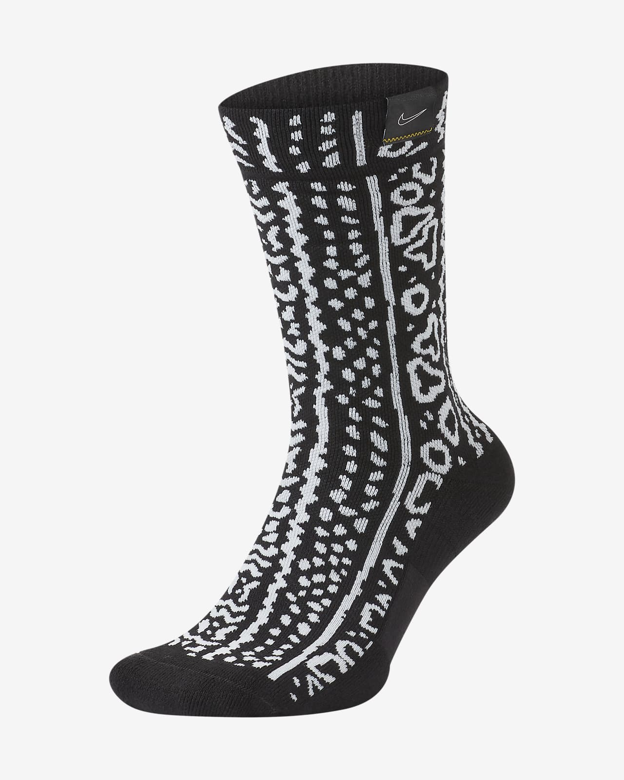 Nike SNKR SOX Exploration Series West Basketball Crew Socks