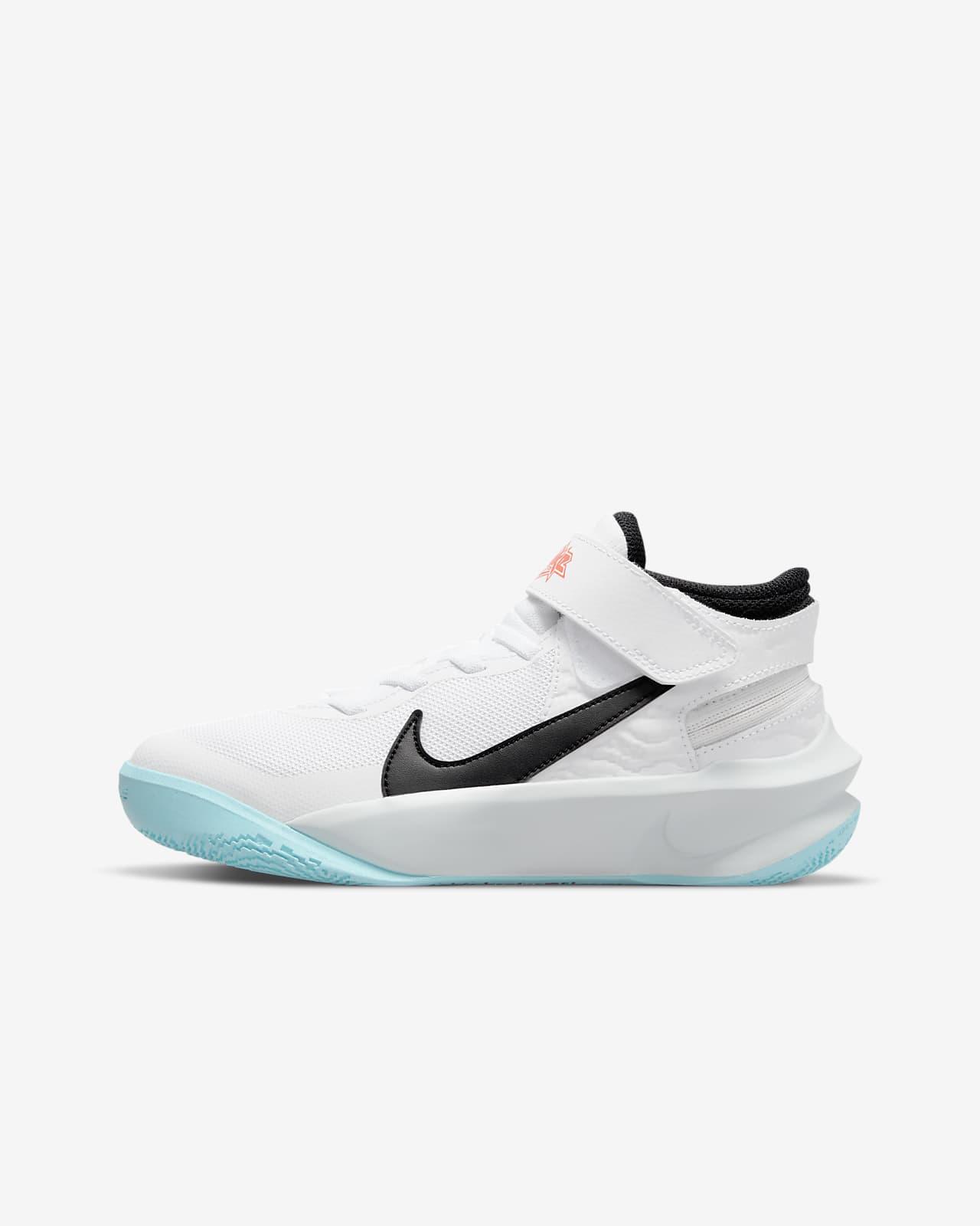Chaussure de basketball Nike Team Hustle D 10 FlyEase pour Enfant ...