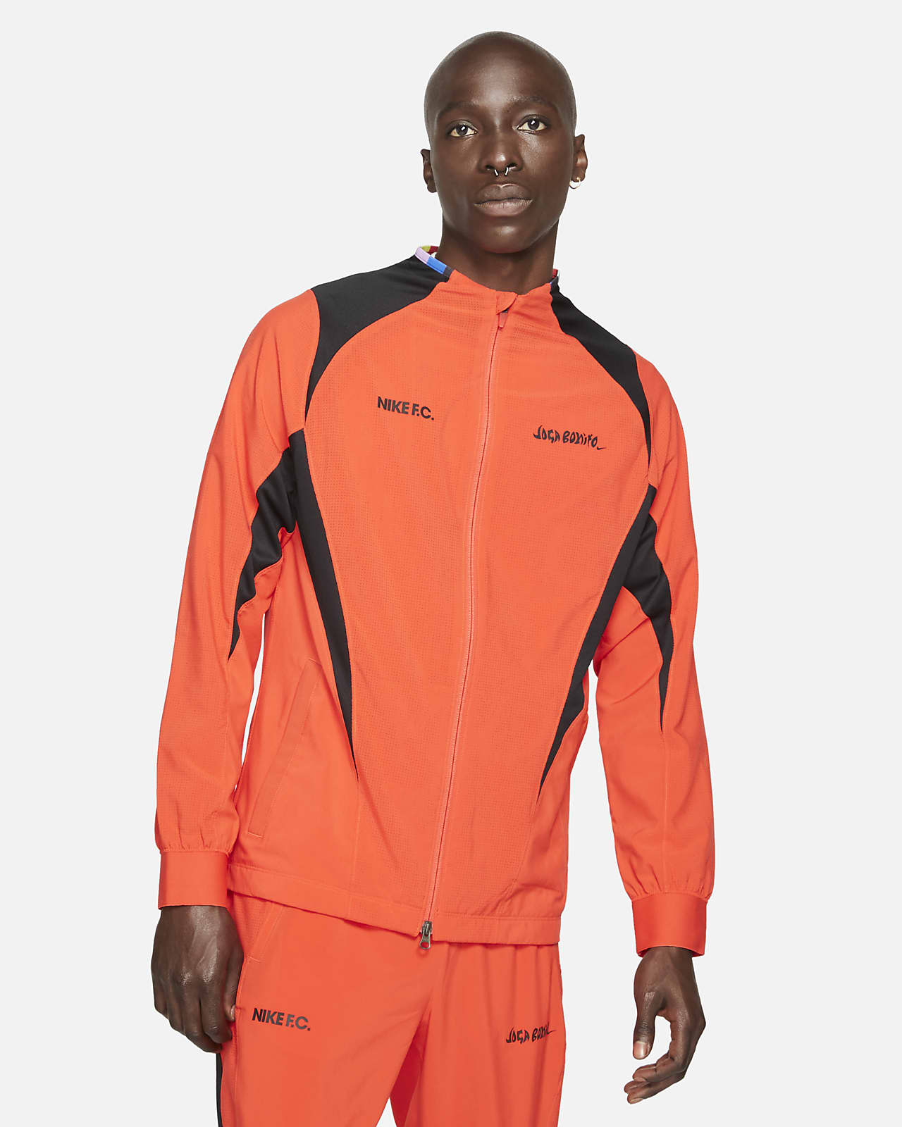 Pánská tkaná fotbalová bunda Nike F.C.