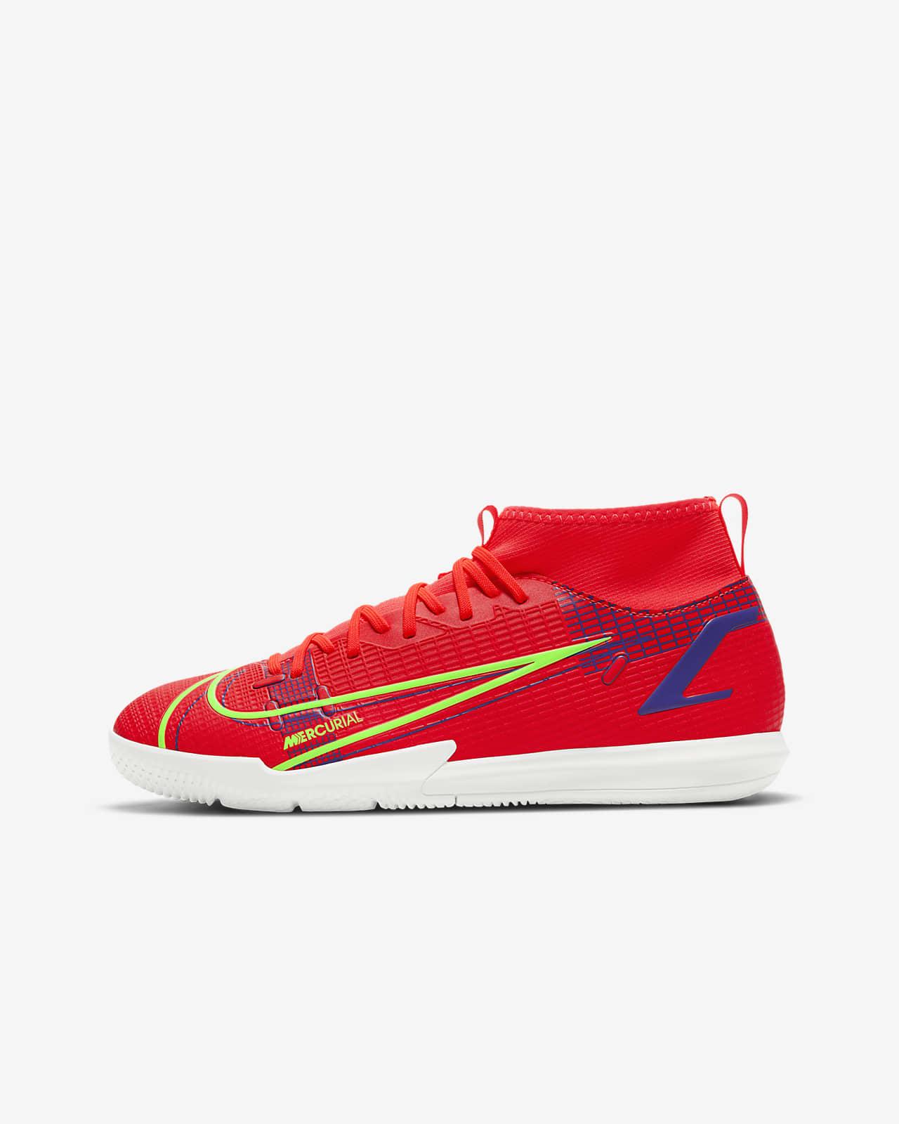 Nike Jr. Mercurial Superfly 8 Academy IC Indoor Court Football Shoe