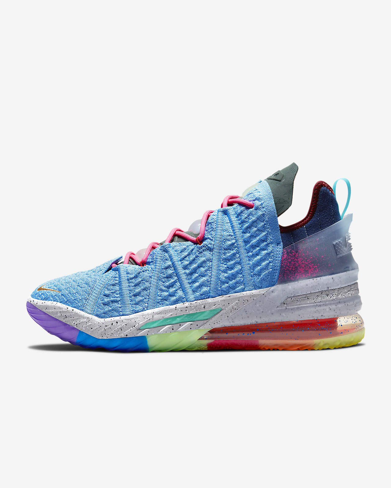 "LeBron 18 ""Best 1-9"" Basketball Shoe"