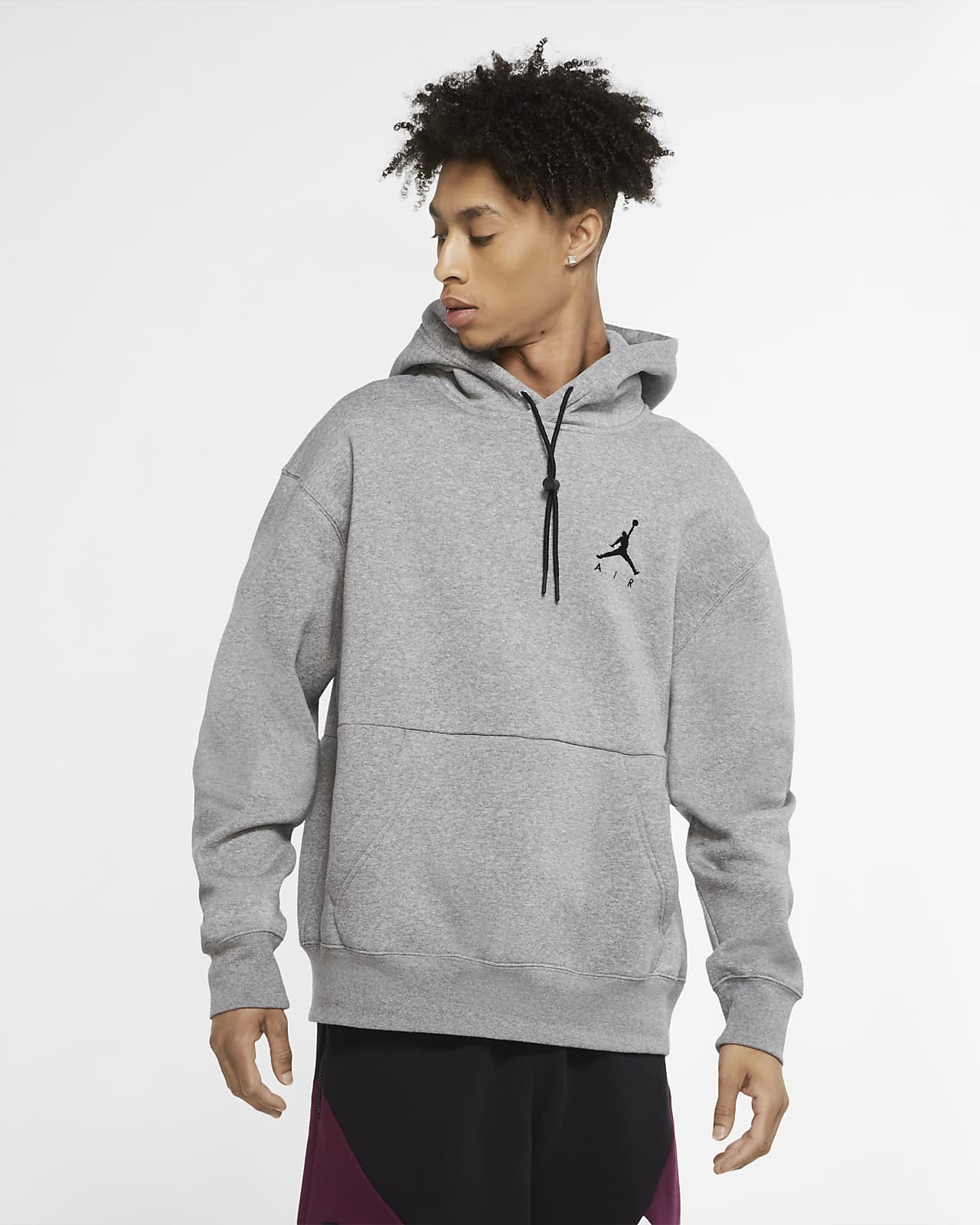 fregar Permanecer realidad  Jordan Jumpman Air Men's Fleece Pullover Hoodie. Nike GB