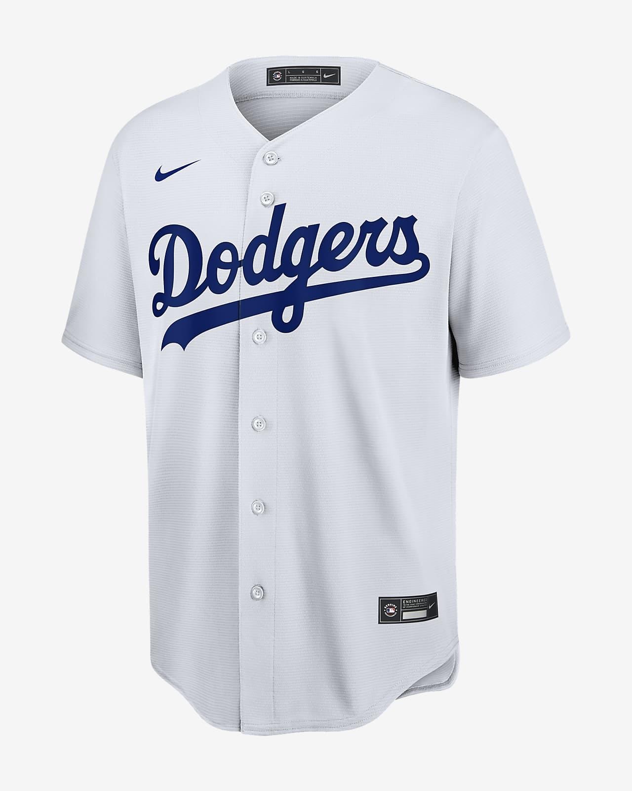 solicitud Física Oficial  Camiseta de béisbol Replica para hombre MLB Los Angeles Dodgers. Nike.com
