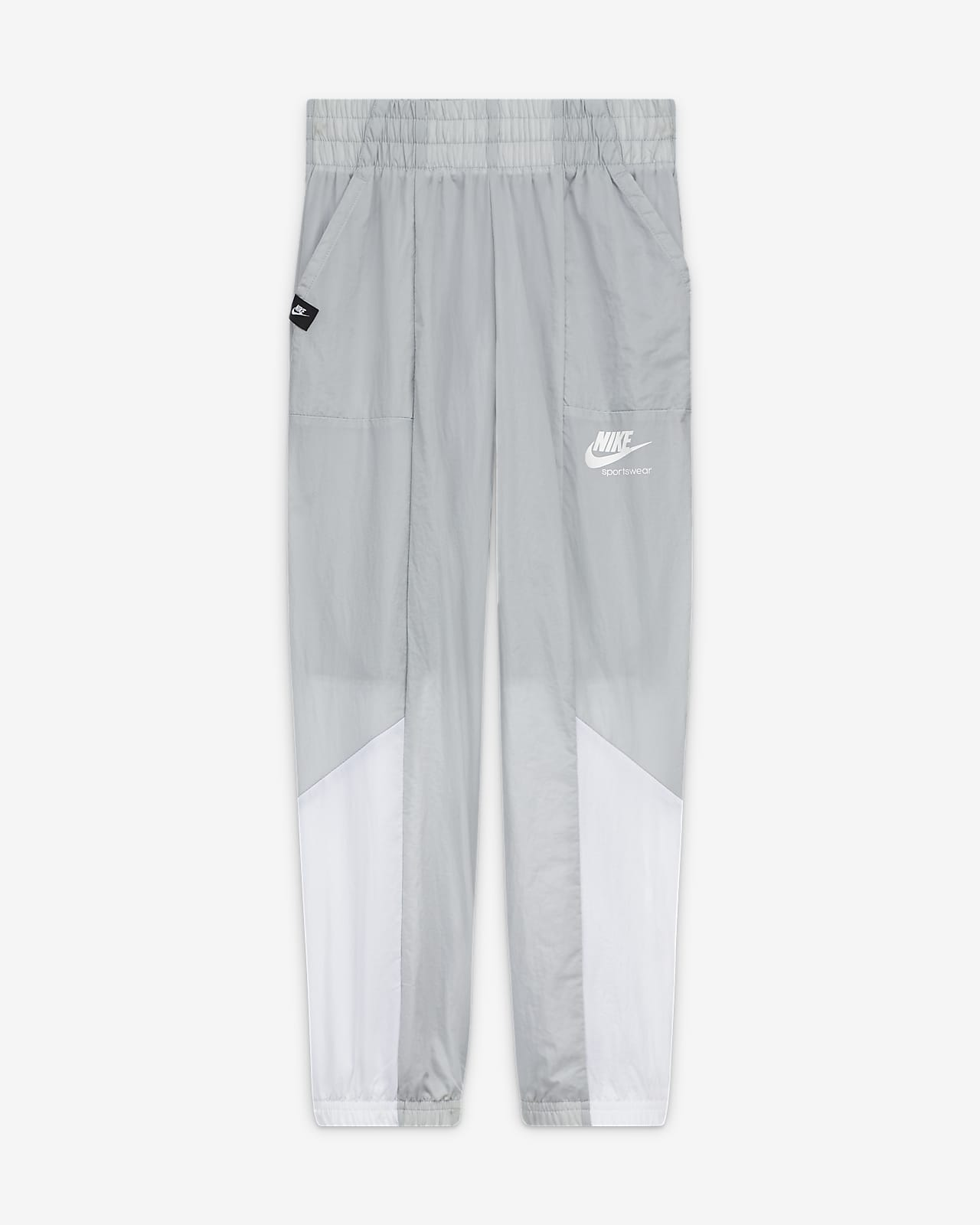Nike Sportswear Heritage Big Kids' (Girls') Woven Training Pants