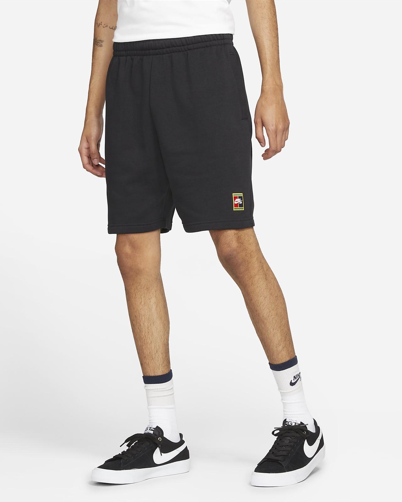 Nike SB Skateboard-Shorts aus Fleece mit Grafik
